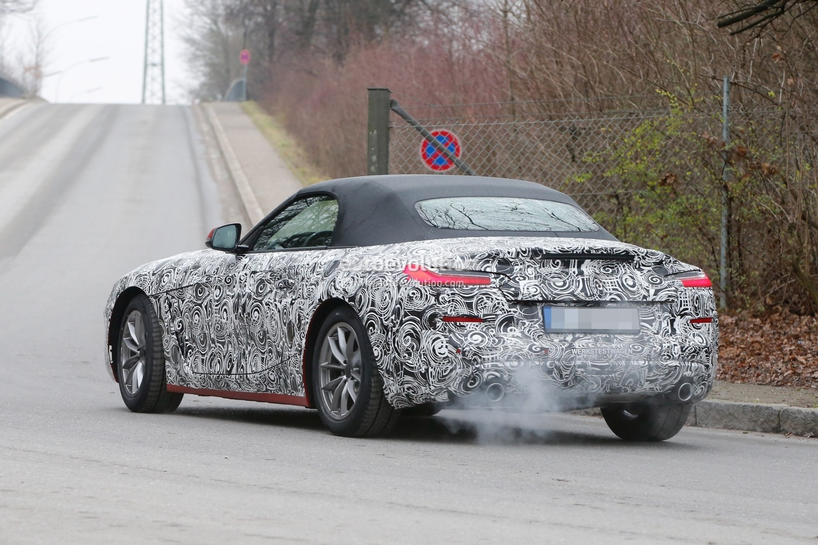 Spyshots 2019 Bmw Z4 Shows Production Headlights With