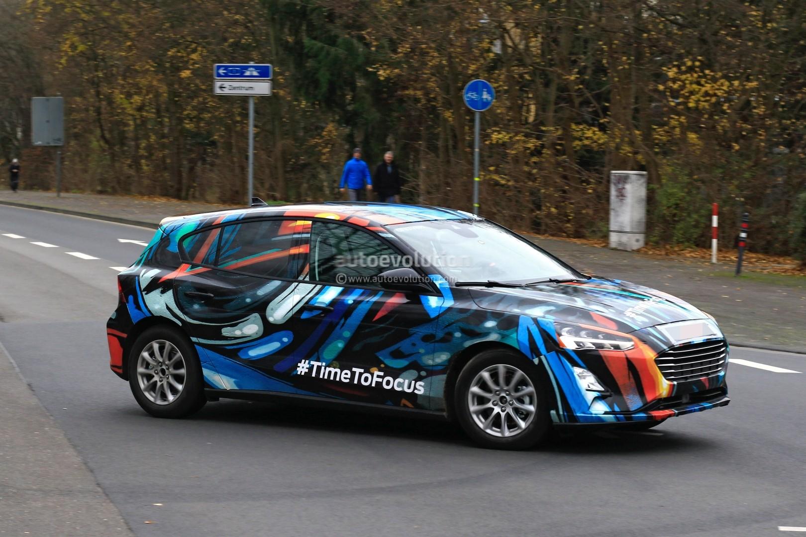 2019 Ford Focus Prototype Reveals Design Details Thor S