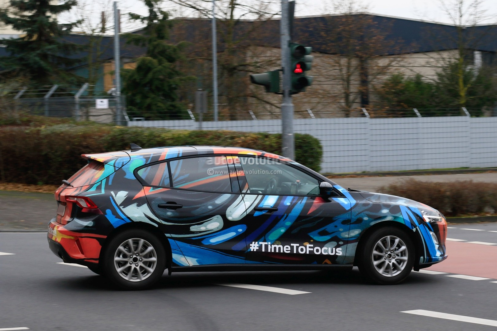 2019 Ford Focus Prototype Reveals Design Details Thor S