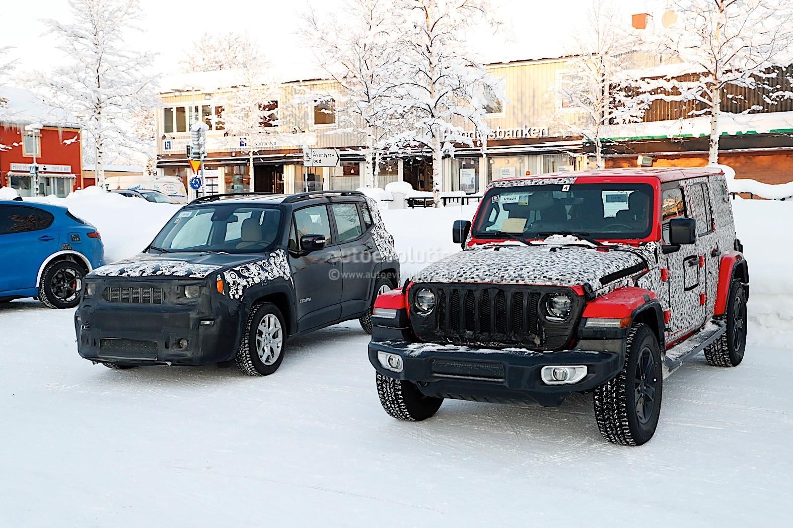 Jeep Renegade Facelift 2018 >> Spyshots: 2019 Jeep Renegade Facelift Gives us Close Ups - autoevolution