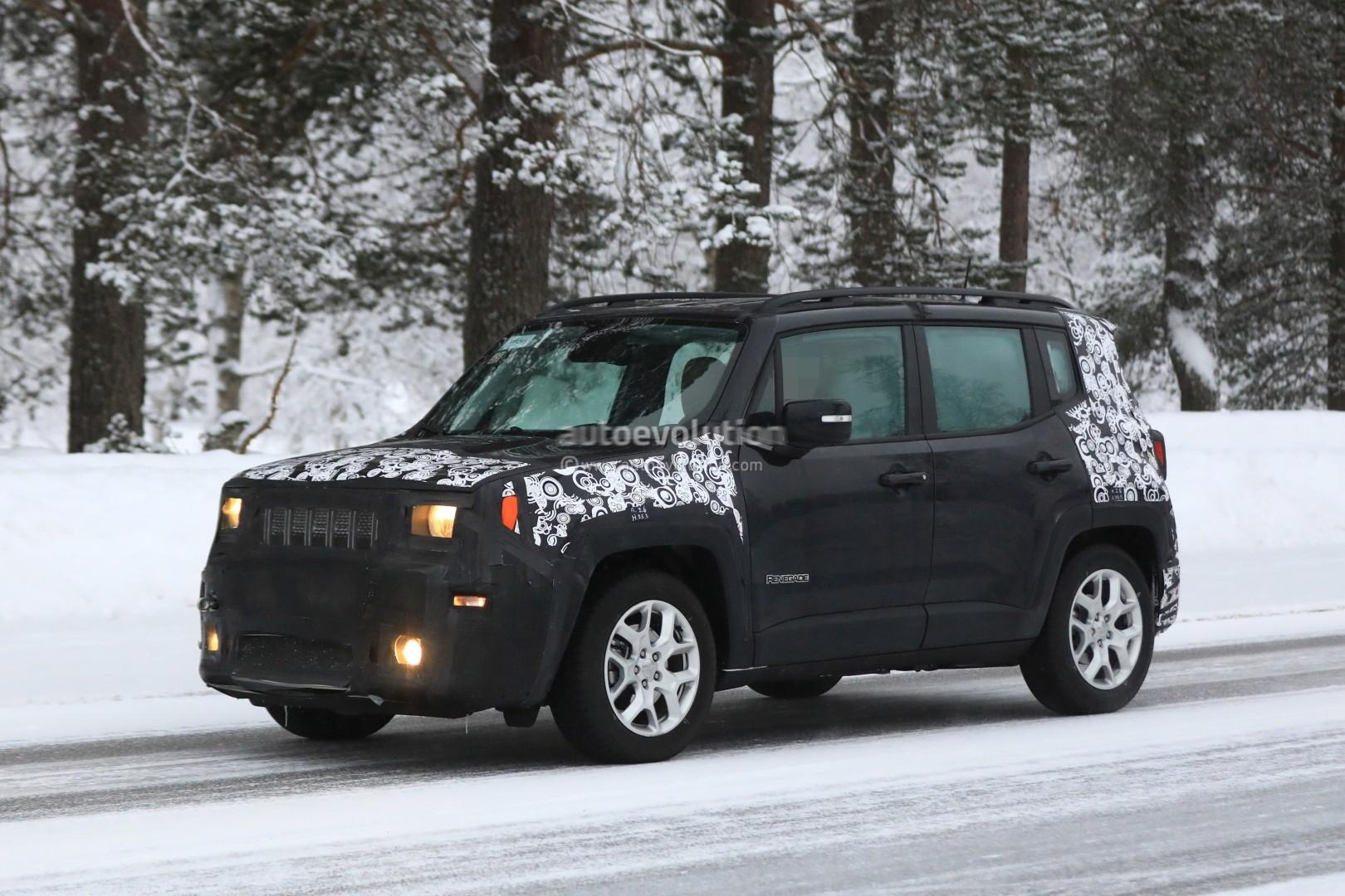 Jeep Renegade Interior >> Spyshots: 2019 Jeep Renegade Facelift Reveals Updated ...