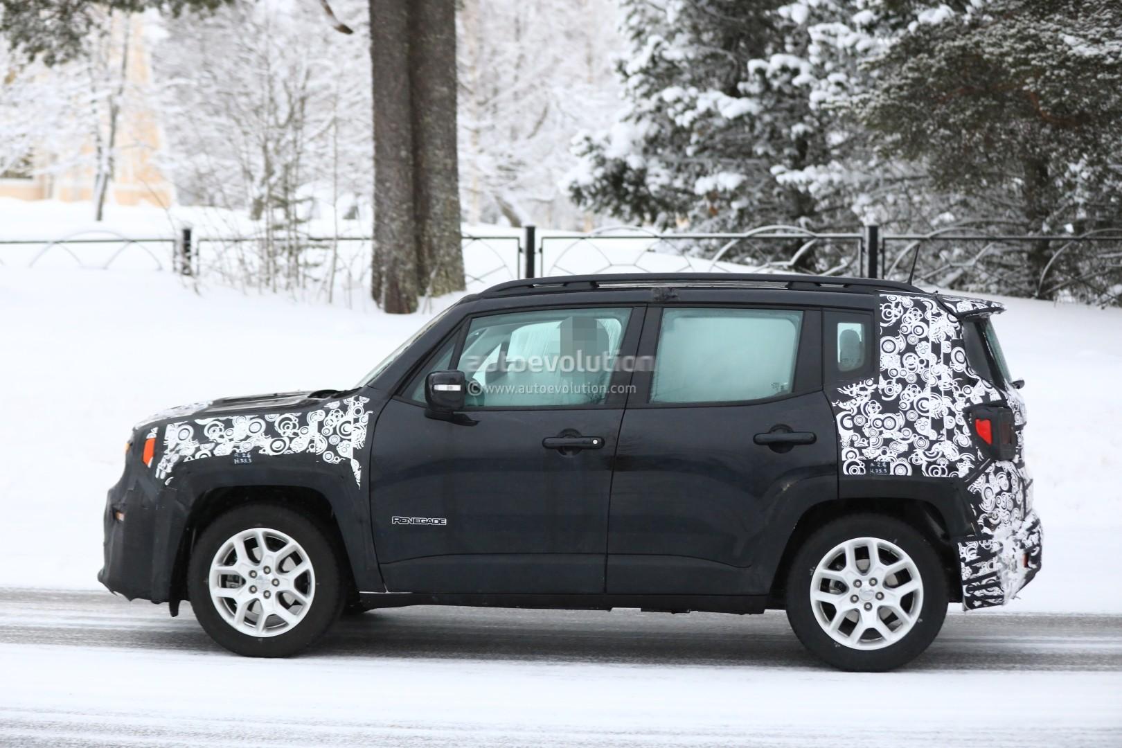 Spyshots 2019 Jeep Renegade Facelift Reveals Updated