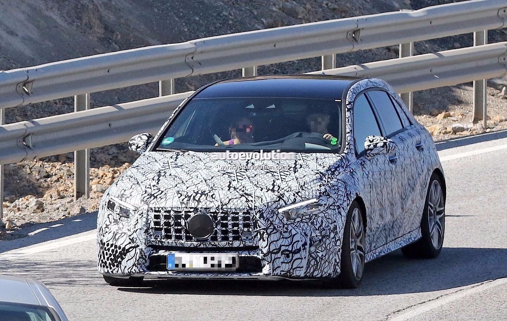 Spyshots: 2019 Mercedes-AMG A45 Looks Ready to Dethrone The