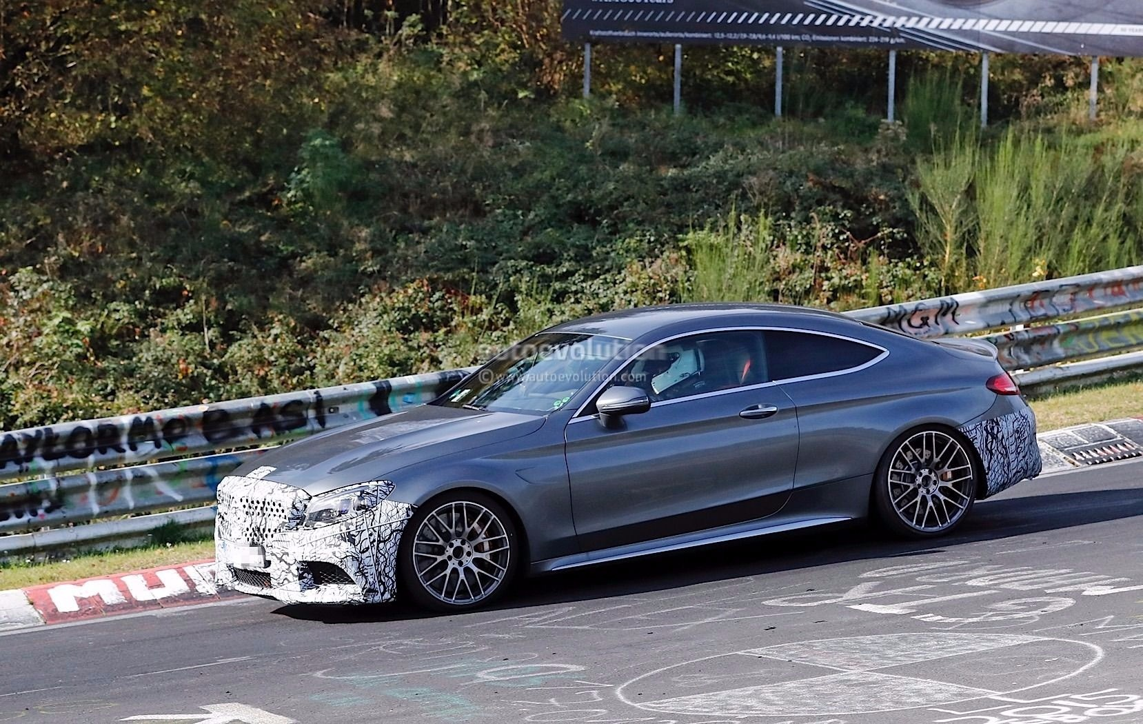 spyshots 2019 mercedes amg c63 s coupe reportedly gets. Black Bedroom Furniture Sets. Home Design Ideas