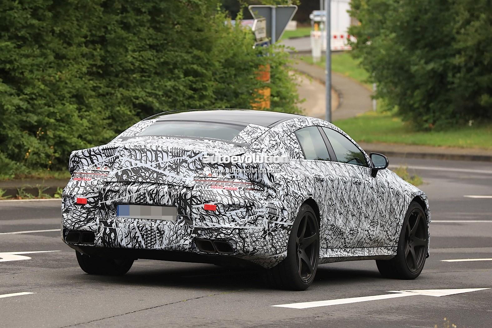 Spyshots 2019 Mercedes Amg Four Door Flaunts Panamericana Grille Looks Vicious Autoevolution