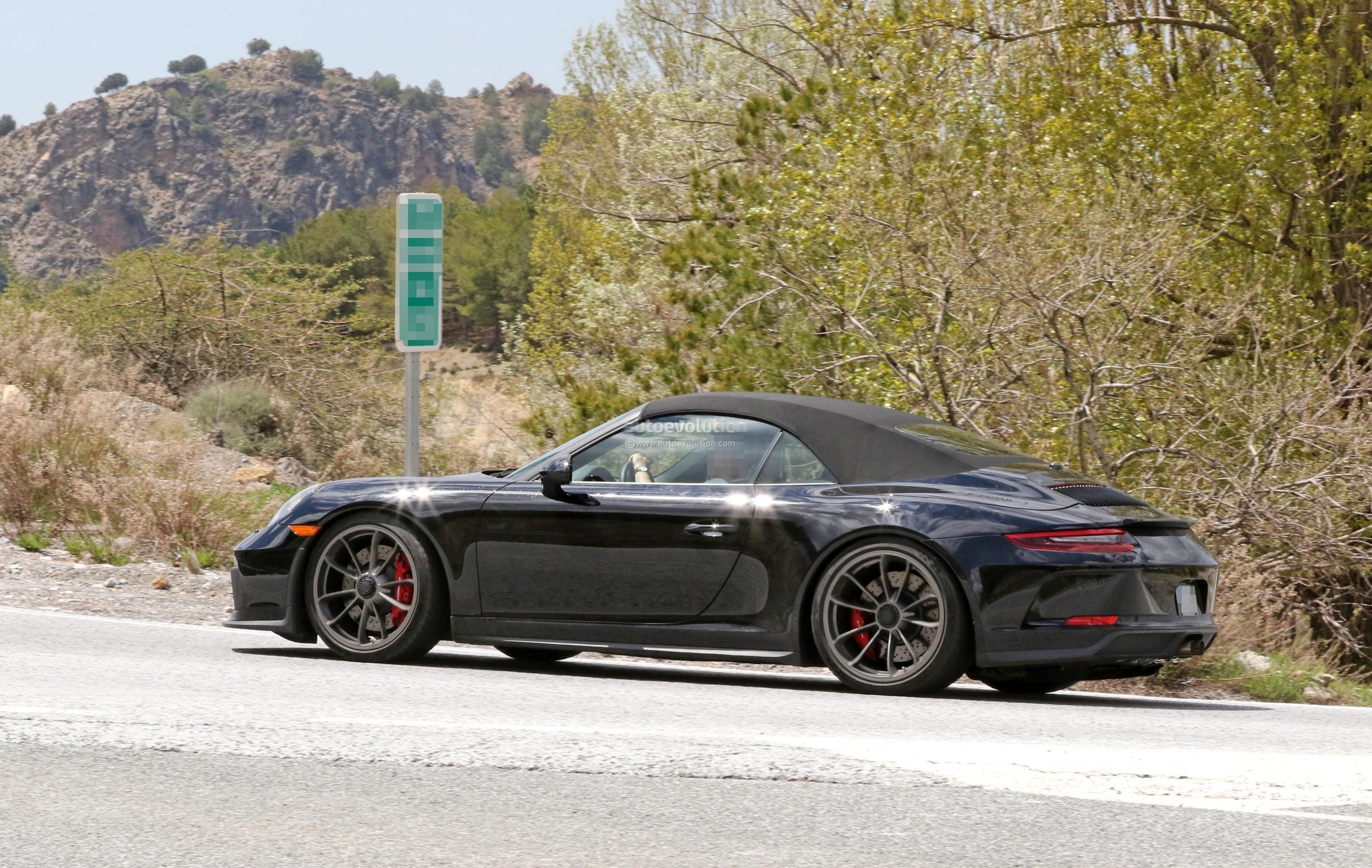 Spyshots Is This The 2019 Porsche 911 Gt3 Touring