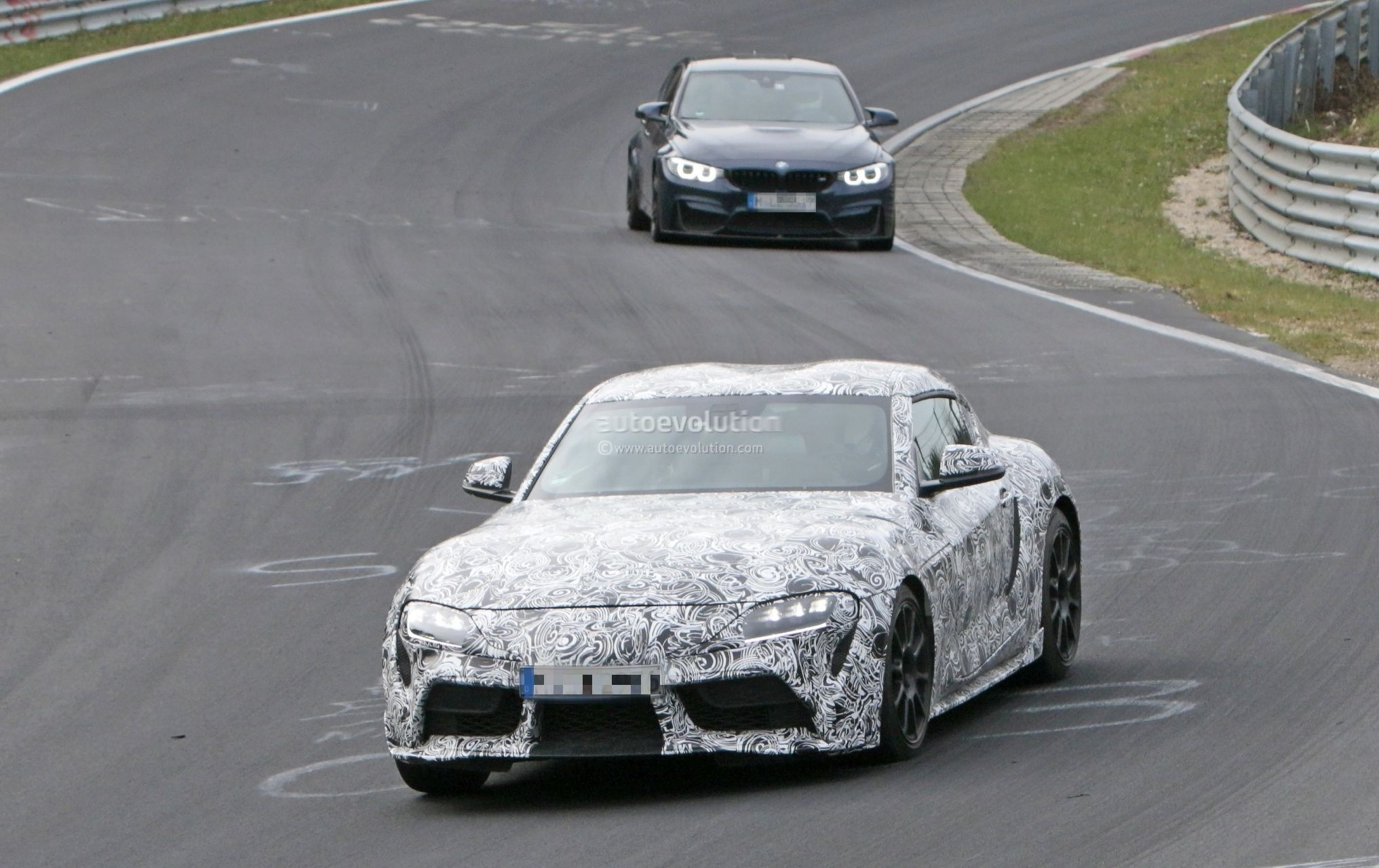 Spyshots 2019 Toyota Supra Interior Shown By Prototype