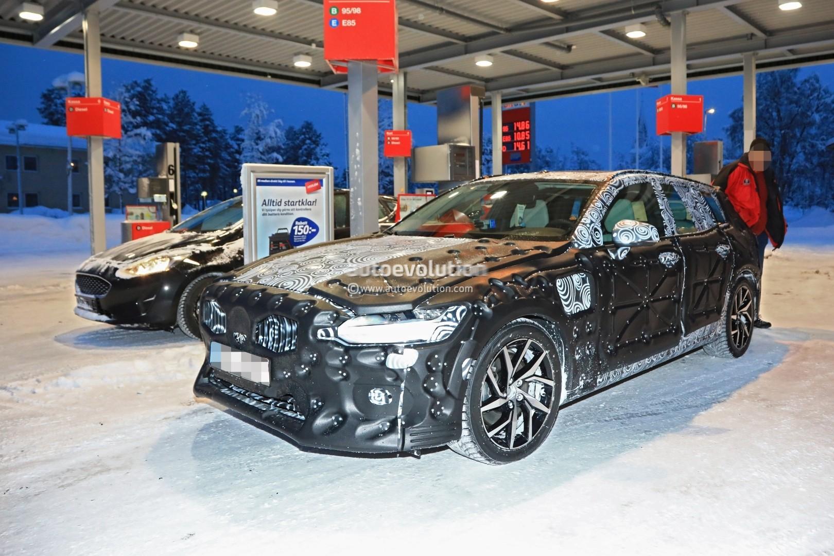 Spyshots 2019 Volvo V60 Hides Sleek Wagon Cues