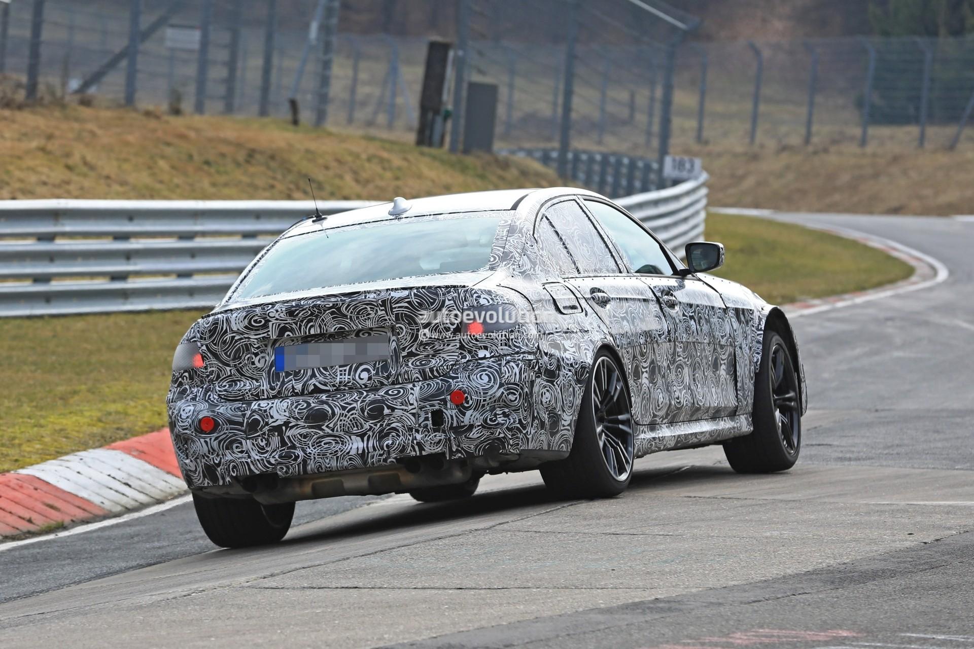 Spyshots: 2020 BMW M3 (G80) Uses Secret Three-Wheeler Mode ...