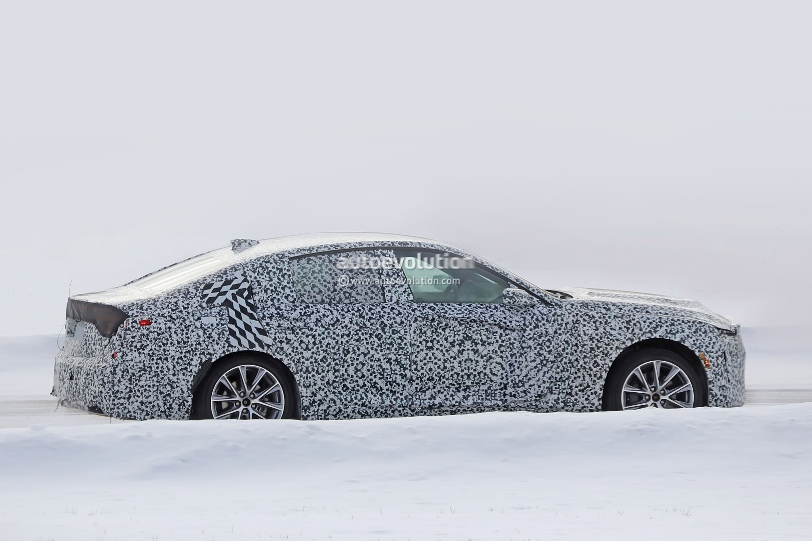 Spyshots Cadillac Ct Gets Closer To Production Will Replace Ats And Cts