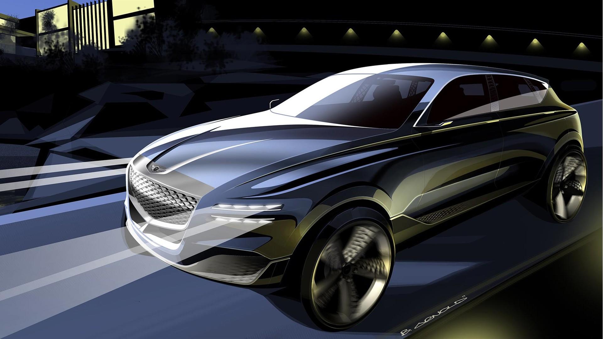 2018 Hyundai Santafe >> Spyshots: 2020 Genesis GV80 SUV Testing to Kickstart Hyundai's Luxury Crossover - autoevolution