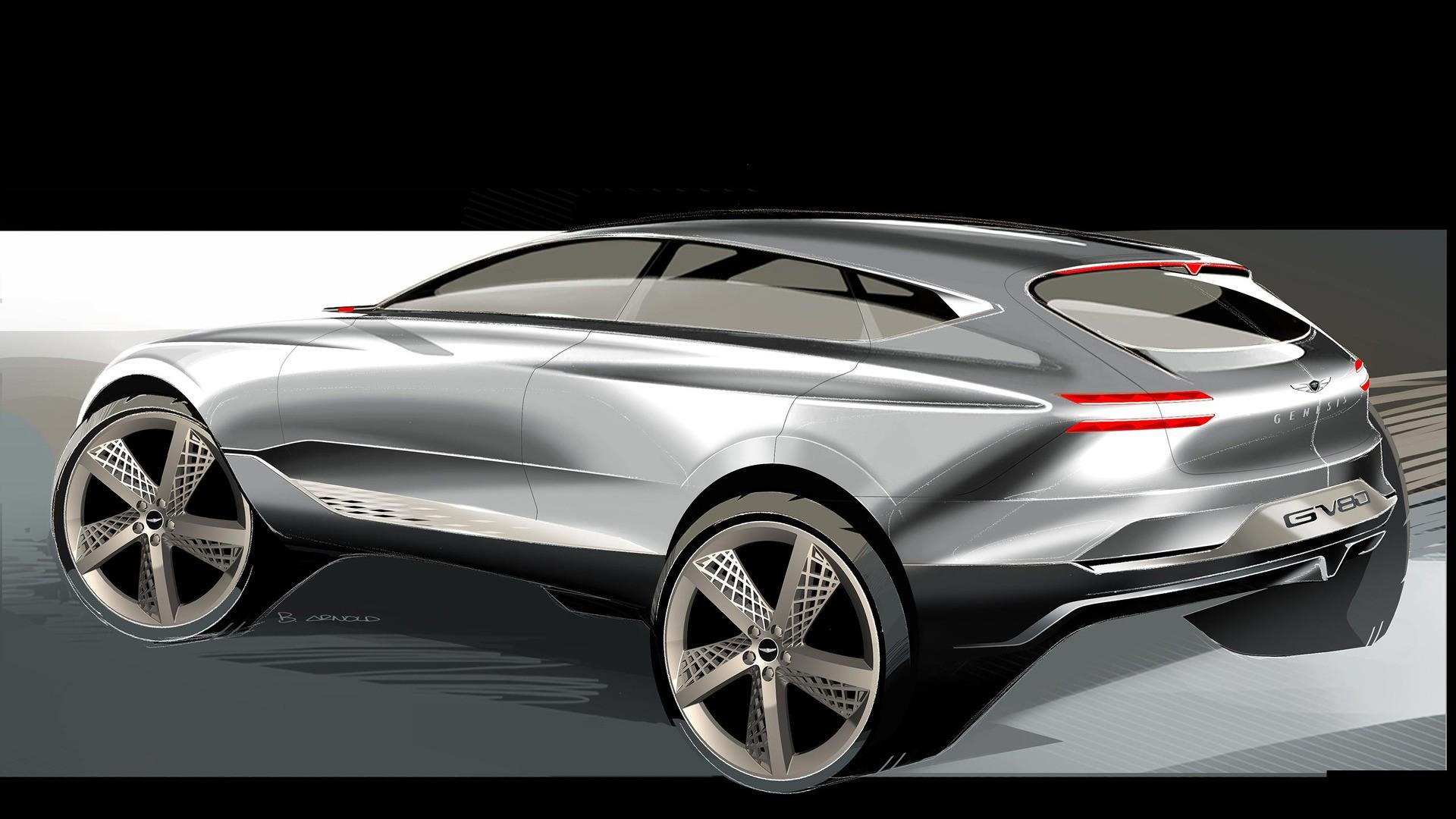 spyshots 2020 genesis gv80 suv testing to kickstart hyundai 39 s luxury crossover autoevolution. Black Bedroom Furniture Sets. Home Design Ideas