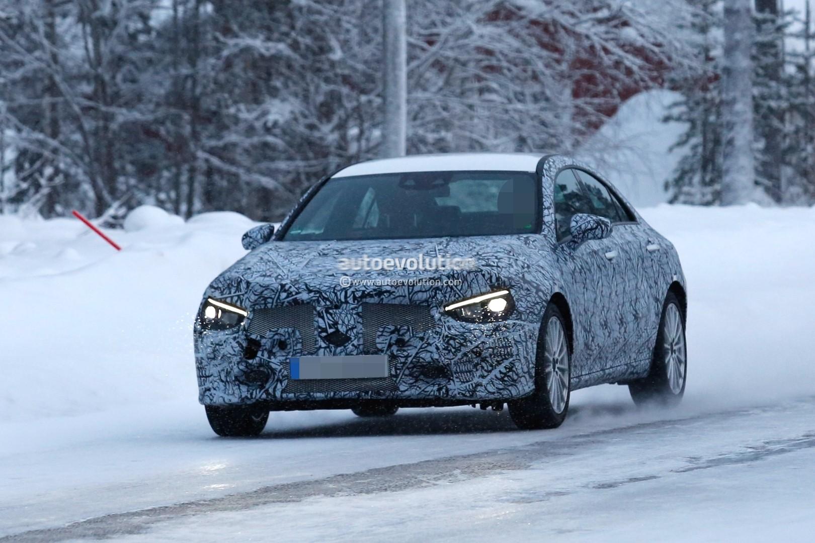 Spyshots 2020 Mercedes Benz Cla Shows Baby Cls Look