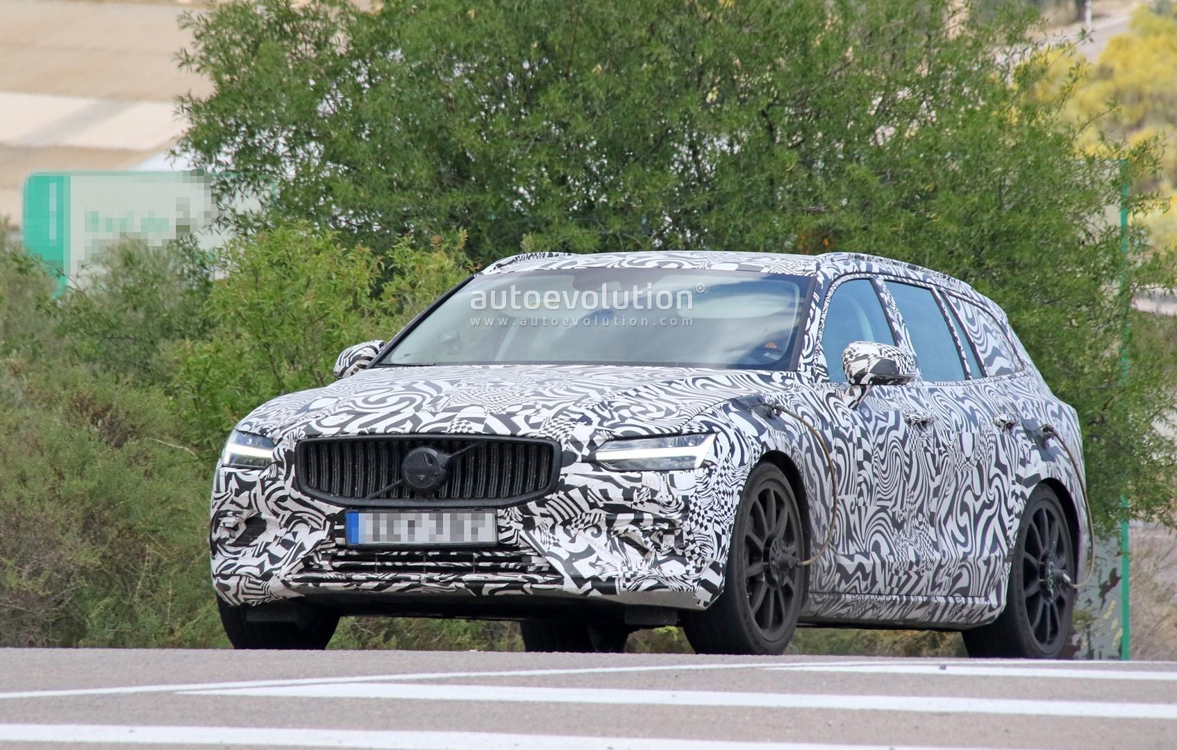 Spyshots 2020 Volvo V60 Polestar R Looks Like A Sleeper Wagon