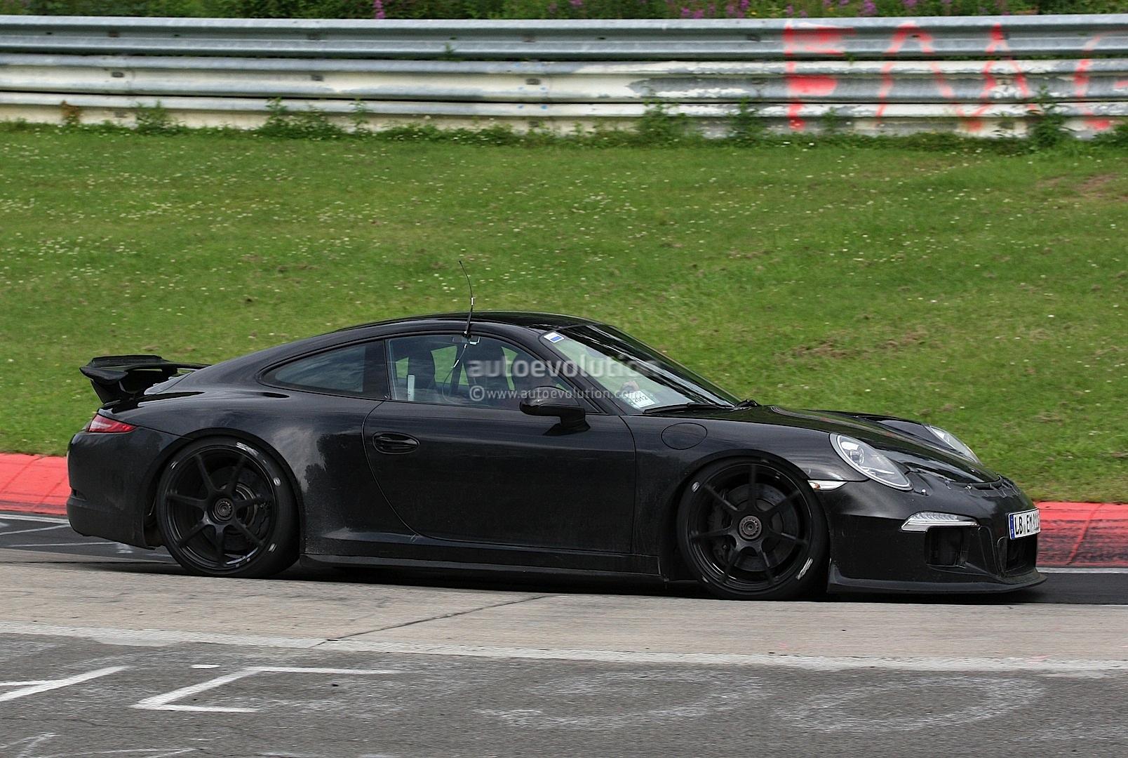 Spyshots 991 Porsche 911 Gt3 Autoevolution