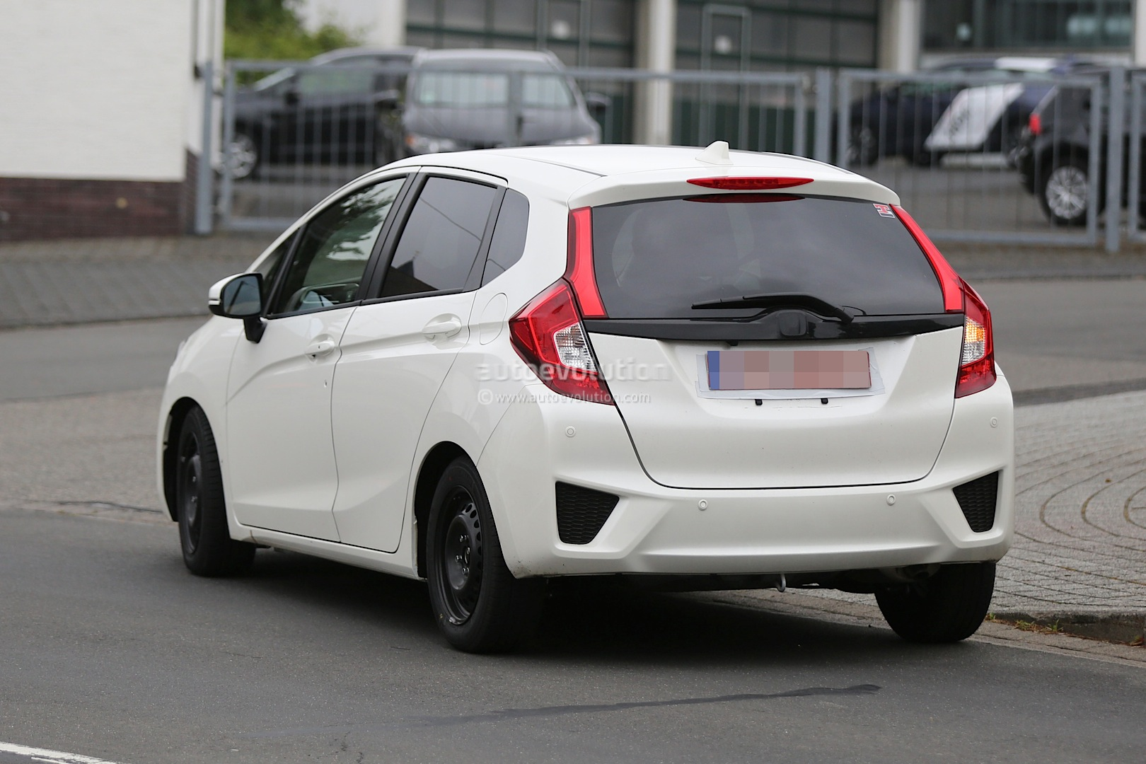 all new honda jazz spotted in europe for the first time