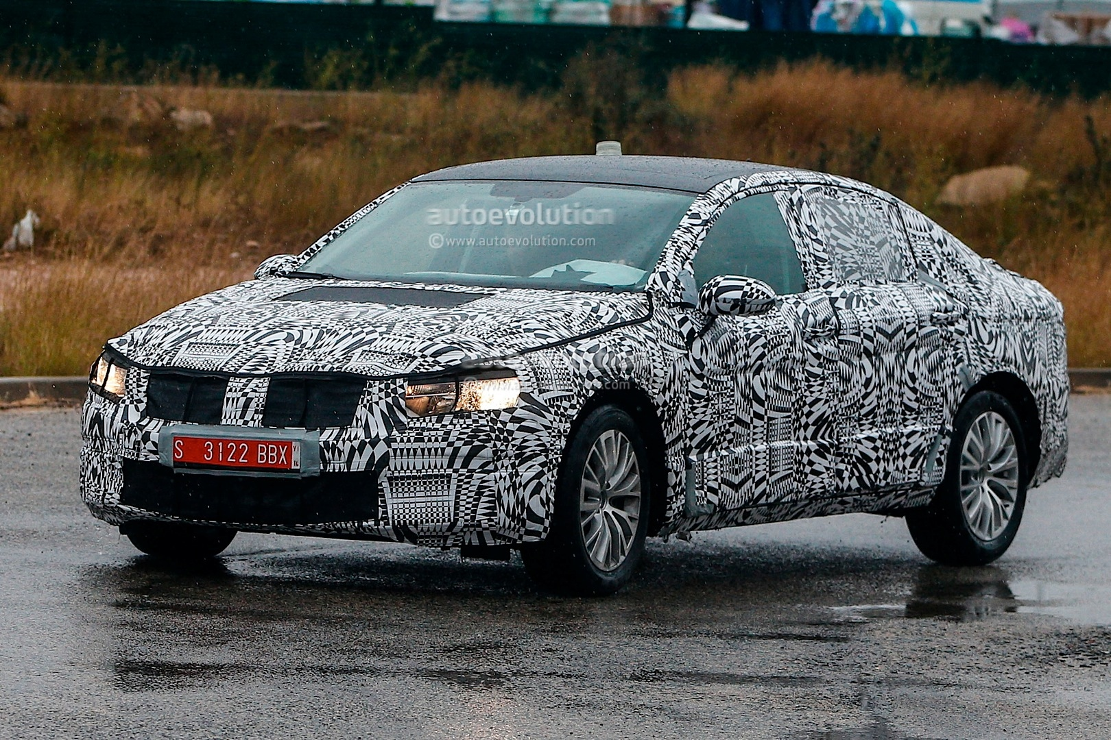 spyshots all new 2015 volkswagen passat spotted for first time autoevolution. Black Bedroom Furniture Sets. Home Design Ideas