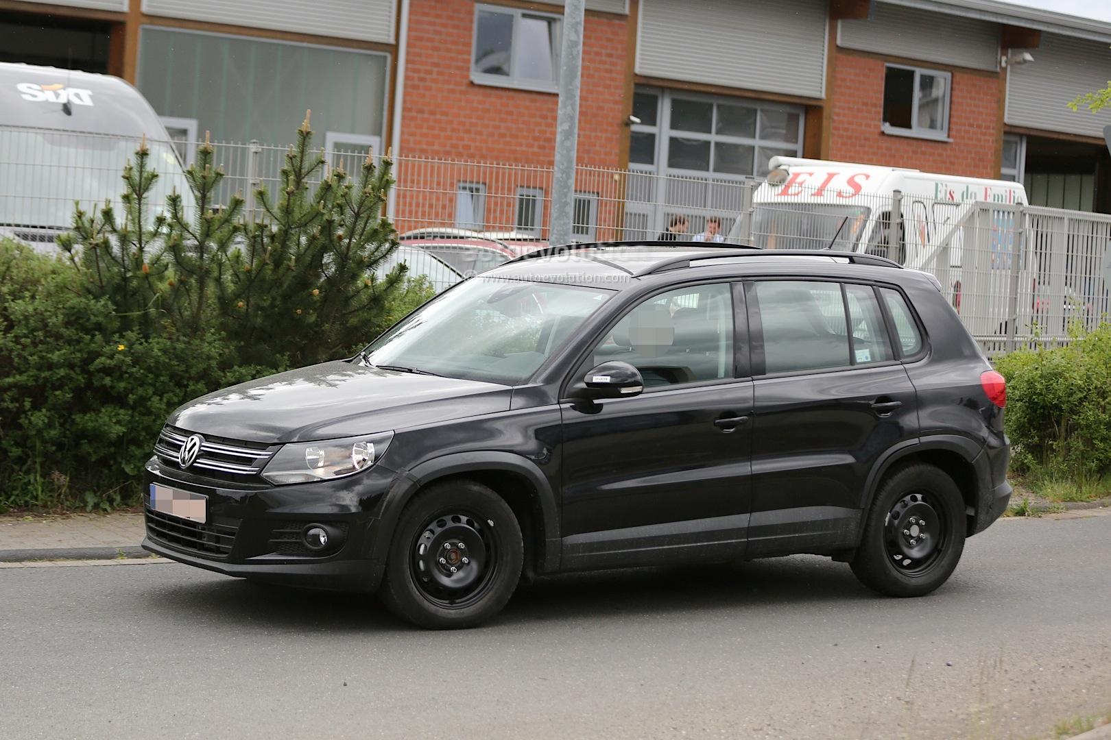 Spyshots: All-New 2015 Volkswagen Tiguan Will Be Wider