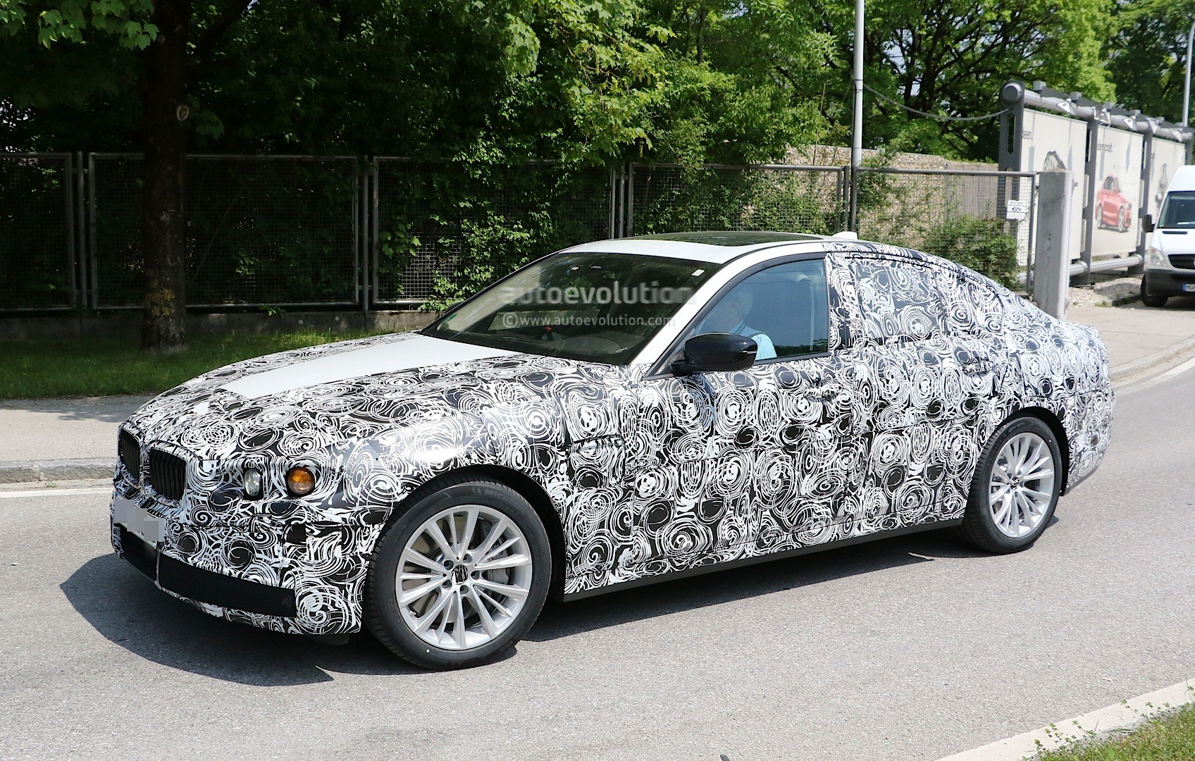 Spyshots All New Bmw M5 G80 Test Mule Or 5 Series M