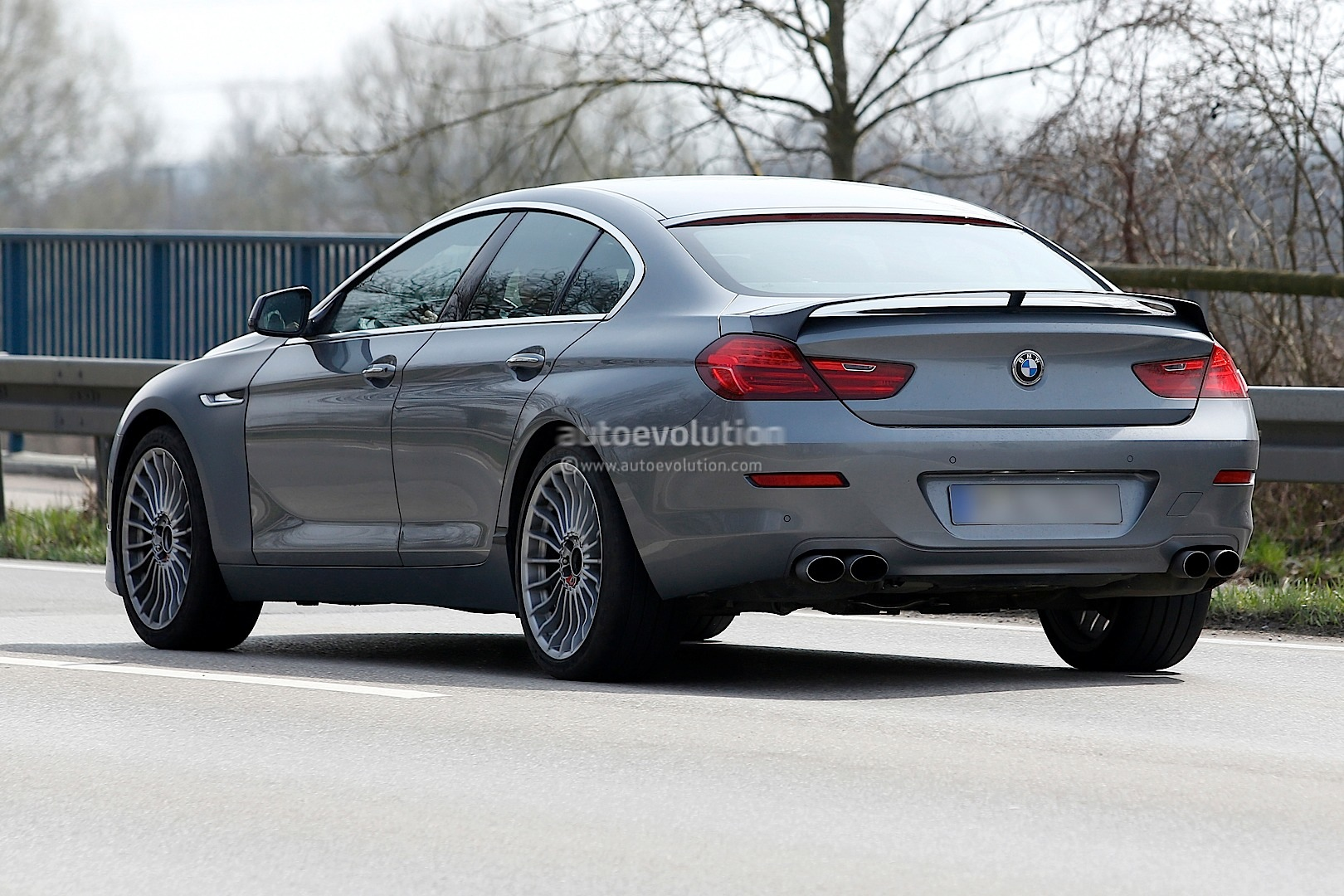 Spyshots Alpina B Biturbo Gran Coupe Autoevolution - Bmw alpina b6 biturbo price