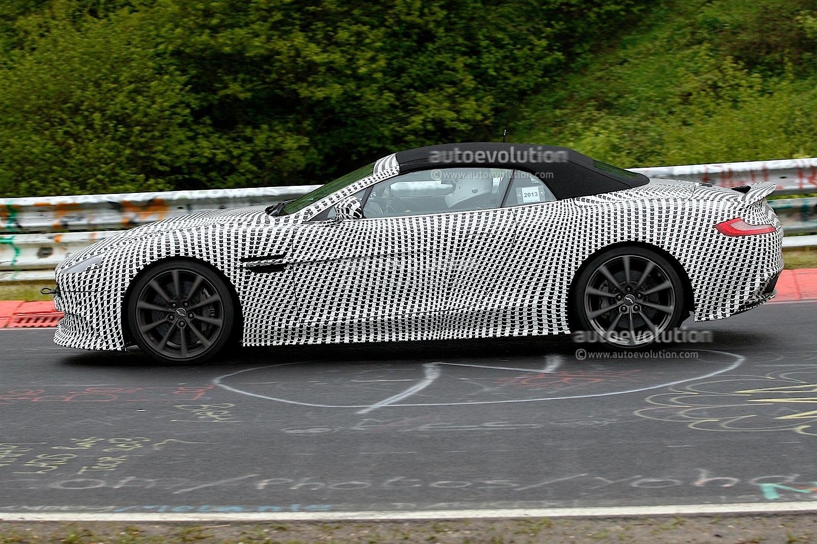 2014 Aston Martin Vanquish Volante Spied The Inevitable Droptop | Apps ...