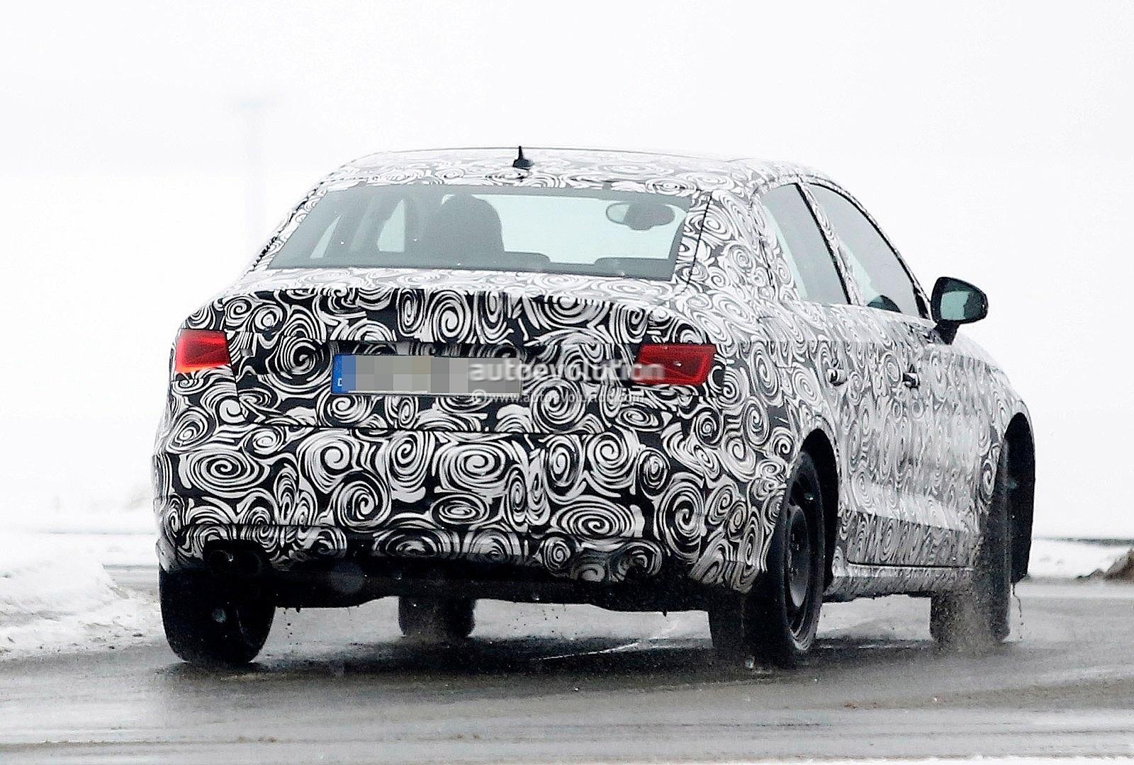 Spyshots Audi A3 Sedan Winter Testing Autoevolution