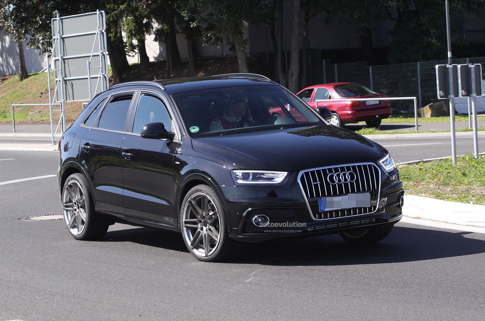 Spyshots Audi Q3 S On The Nurburgring Autoevolution