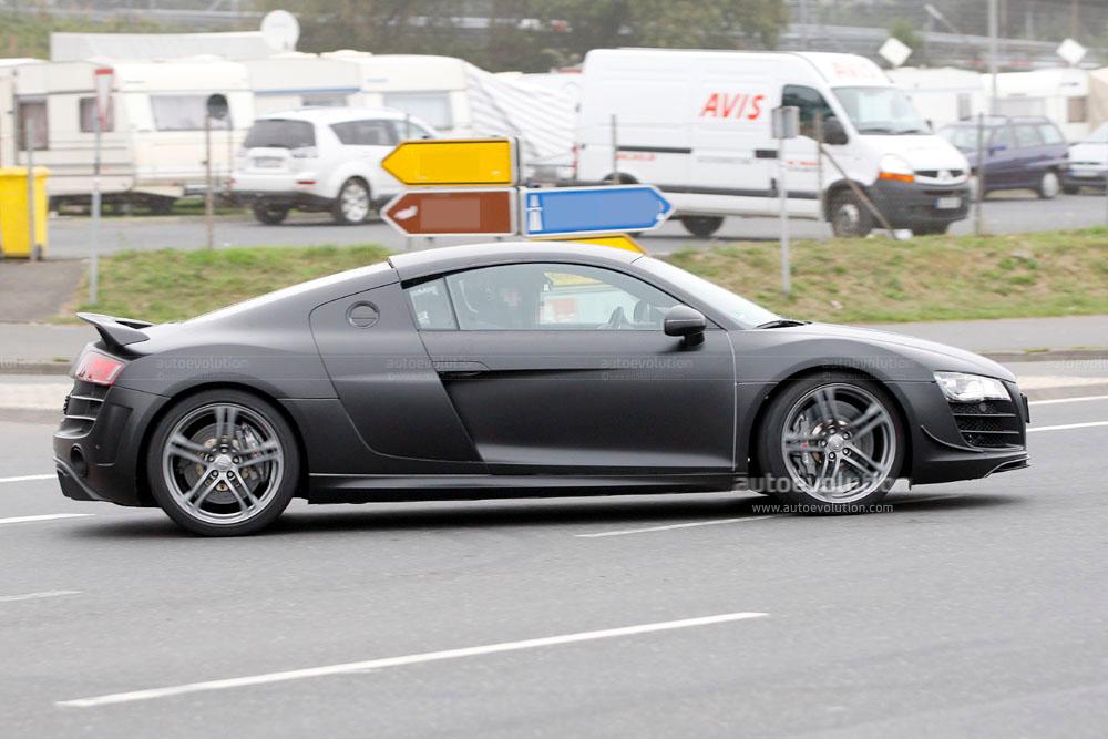 Spyshots audi r8 clubsport autoevolution