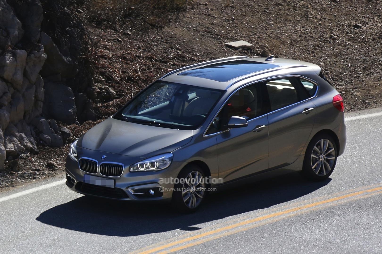Spyshots BMW Series GT Is The Active Tourer Production Model - Bmw 2 series gt