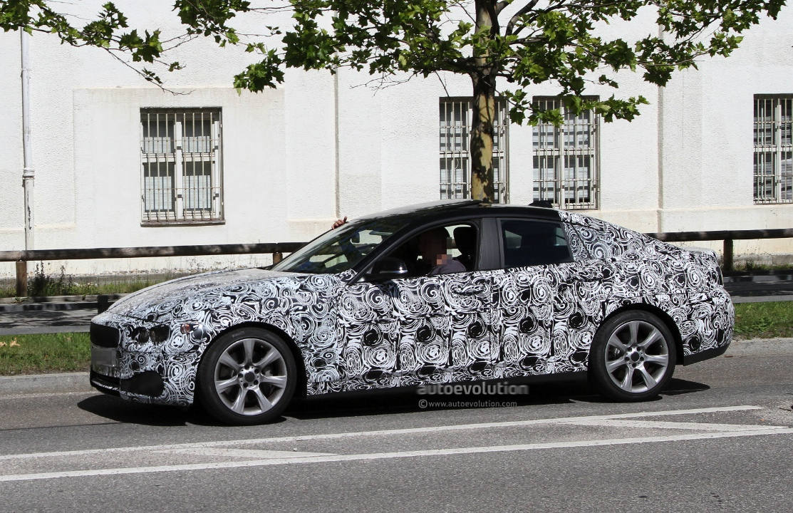 Spyshots: BMW 4-Series Grand Coupe - autoevolution