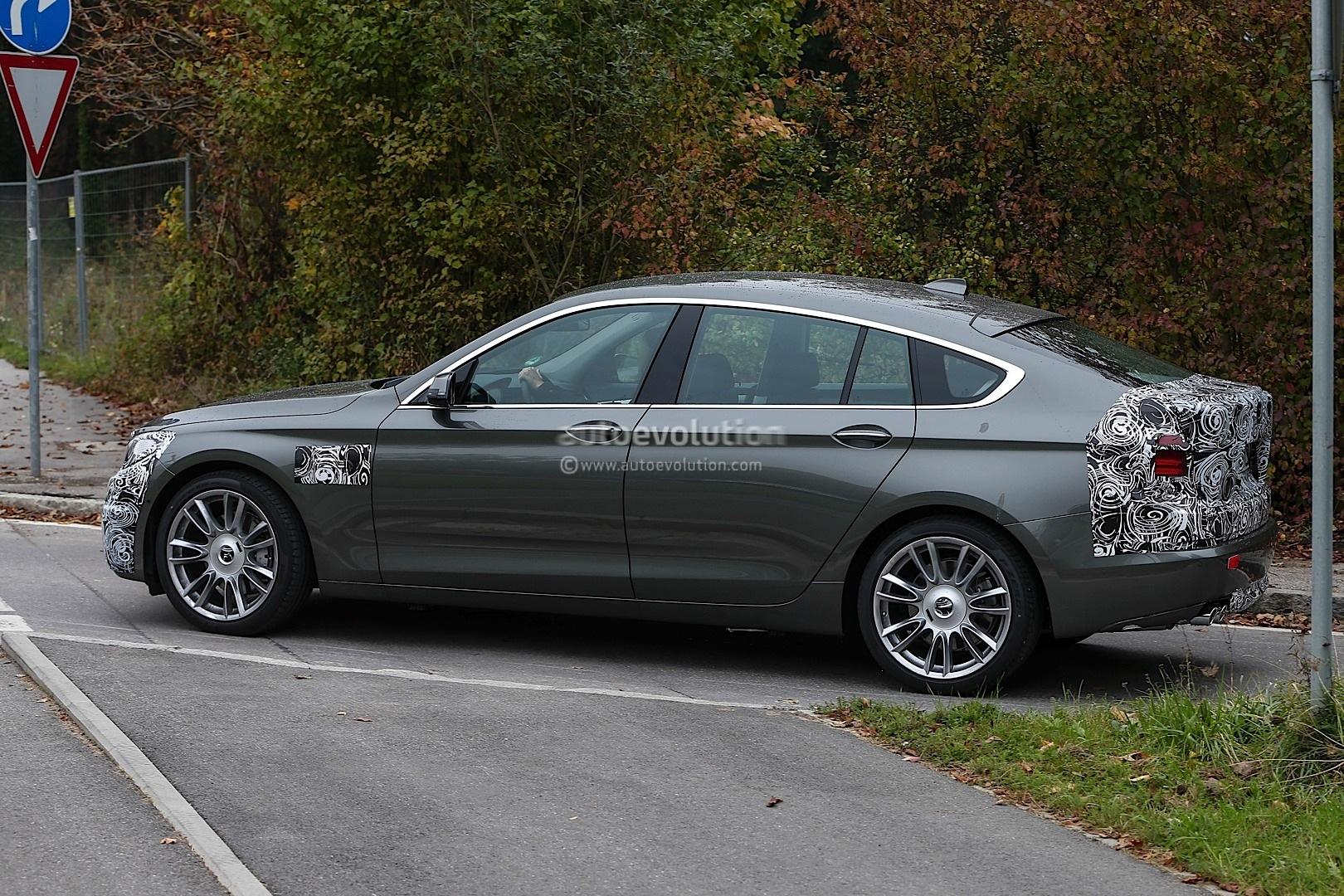 Spyshots Bmw F07 5 Series Gran Turismo Facelift Lci