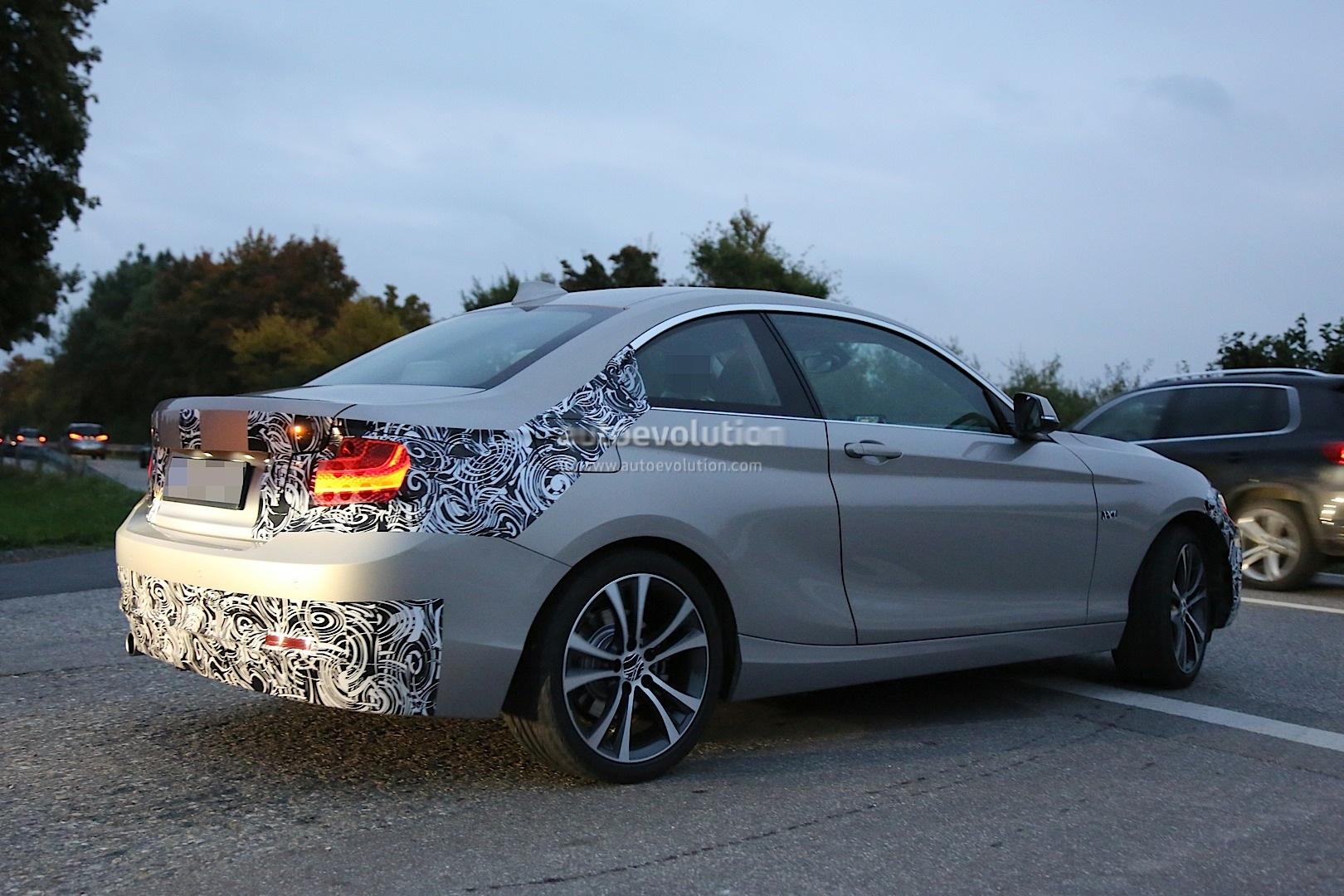 Spyshots: BMW F22 2 Series Coupe Almost Undisguised - autoevolution
