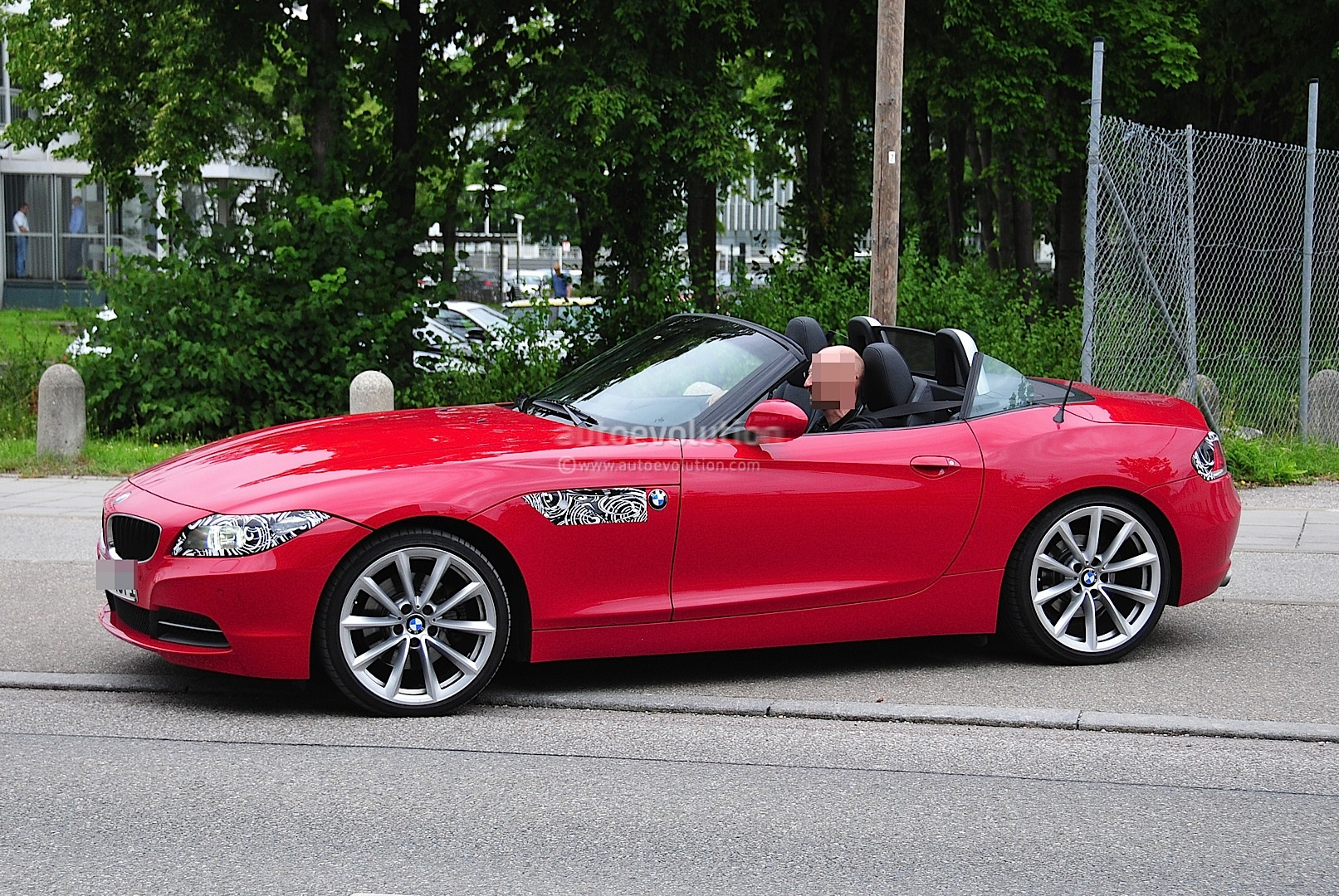 Spyshots Bmw Z4 Facelift Autoevolution