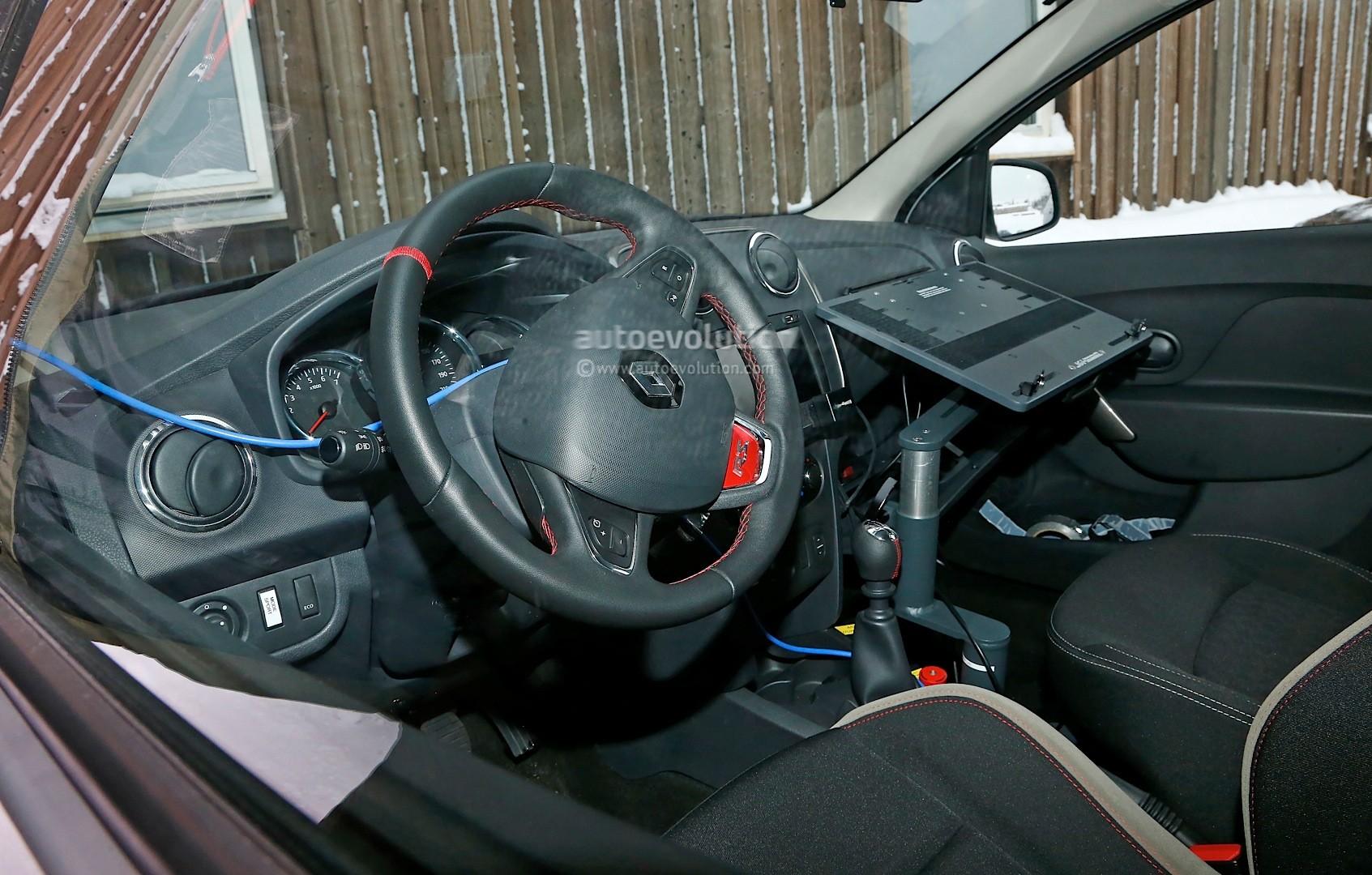 Spyshots: Dacia Sandero RS Getting 1.2 Turbo Engine, Sportier ...