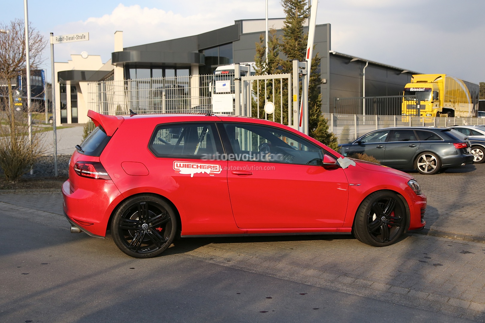 "2017 Volkswagen Golf Gti Sport >> Spyshots: Hardcore VW Golf GTI ""Club Sport"" Spotted at Nurburgring - autoevolution"