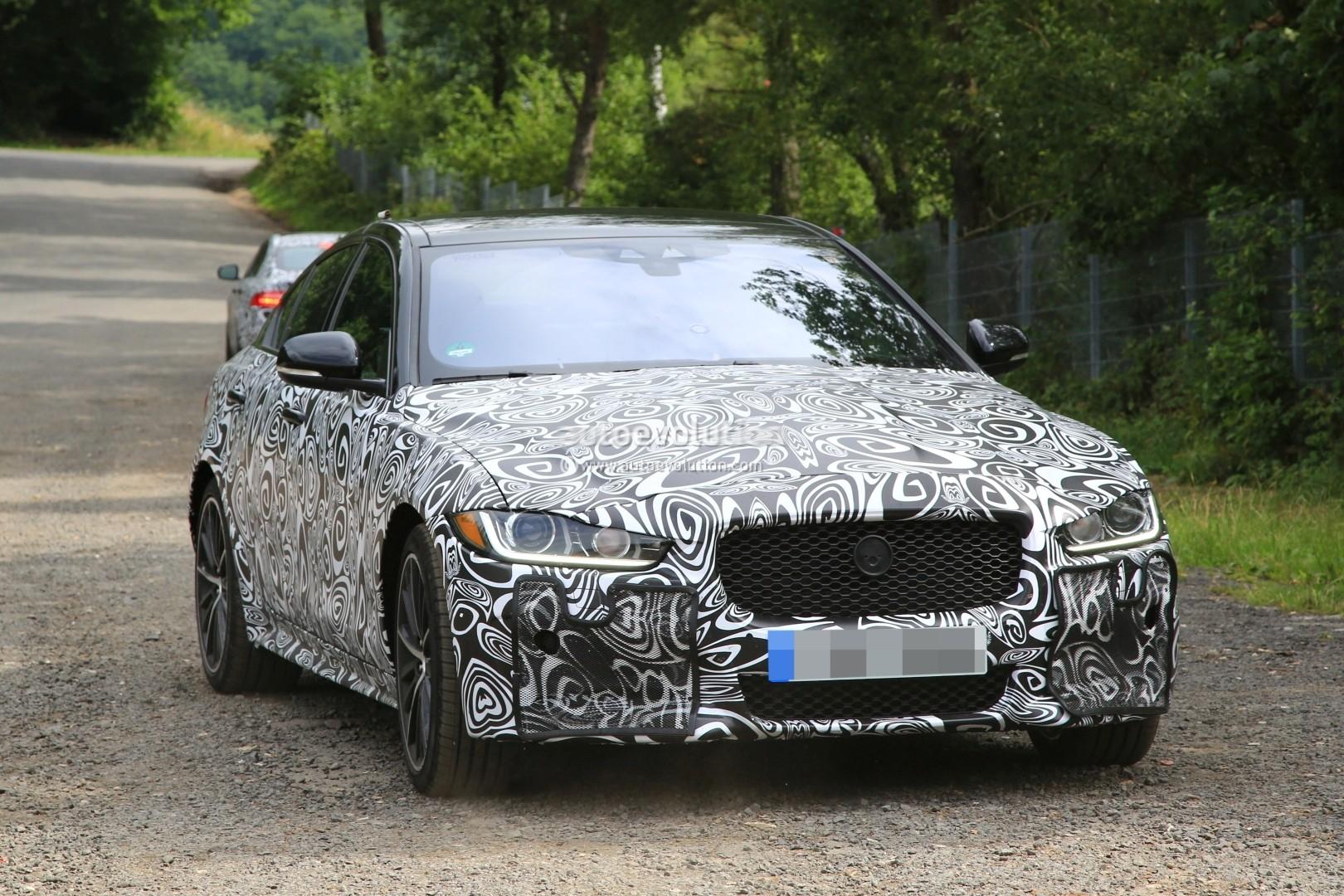 2018 jaguar xe svr. Interesting 2018 Jaguar XE SVR Spied  Intended 2018 Jaguar Xe Svr