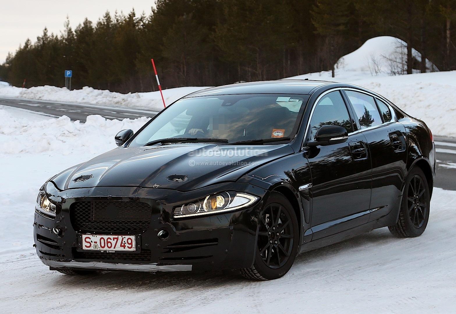 Spyshots Jaguar Xs Mule The Bmw 3 Series Rival Emerges