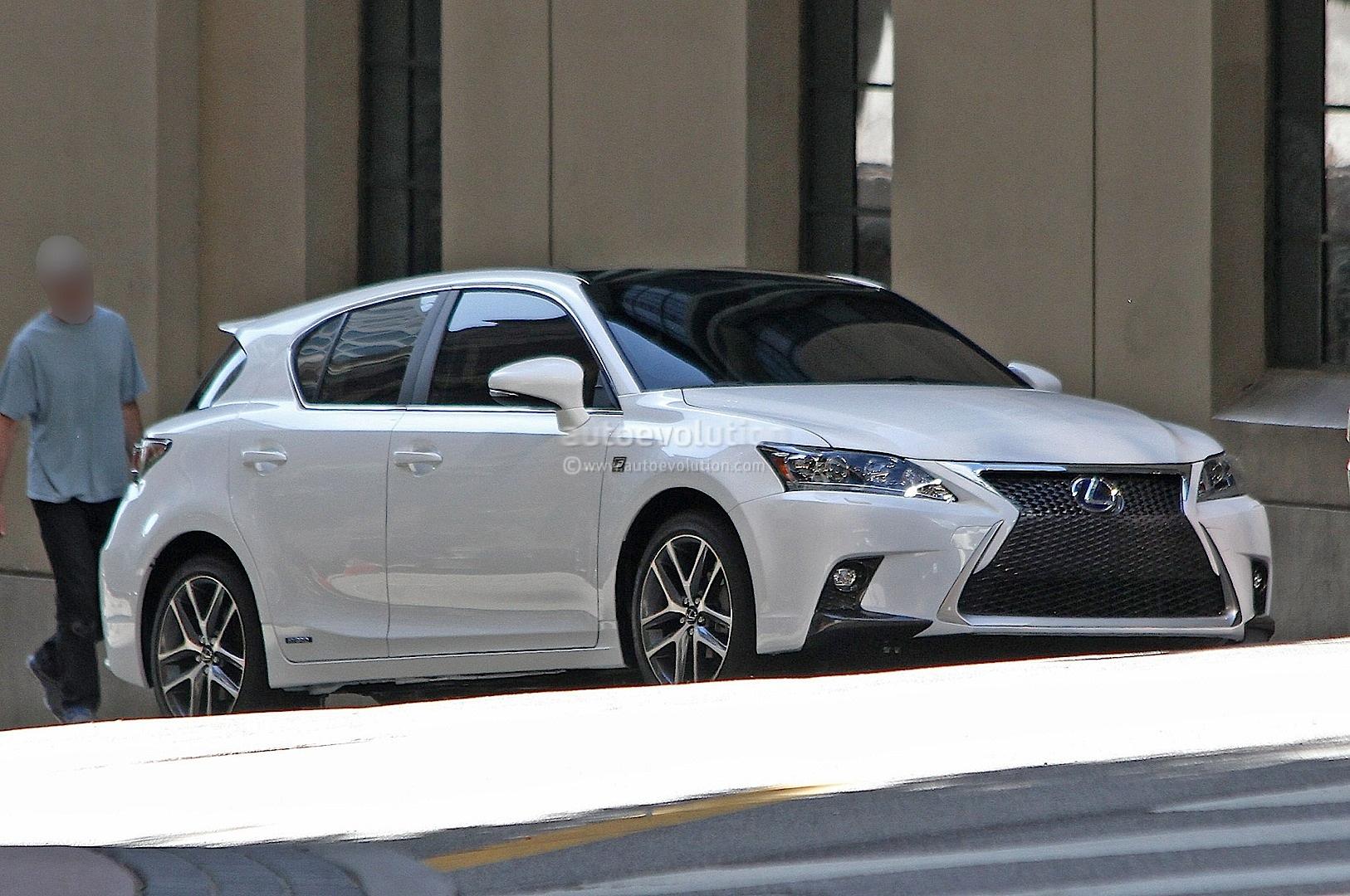 spyshots lexus ct 200h f sport autoevolution