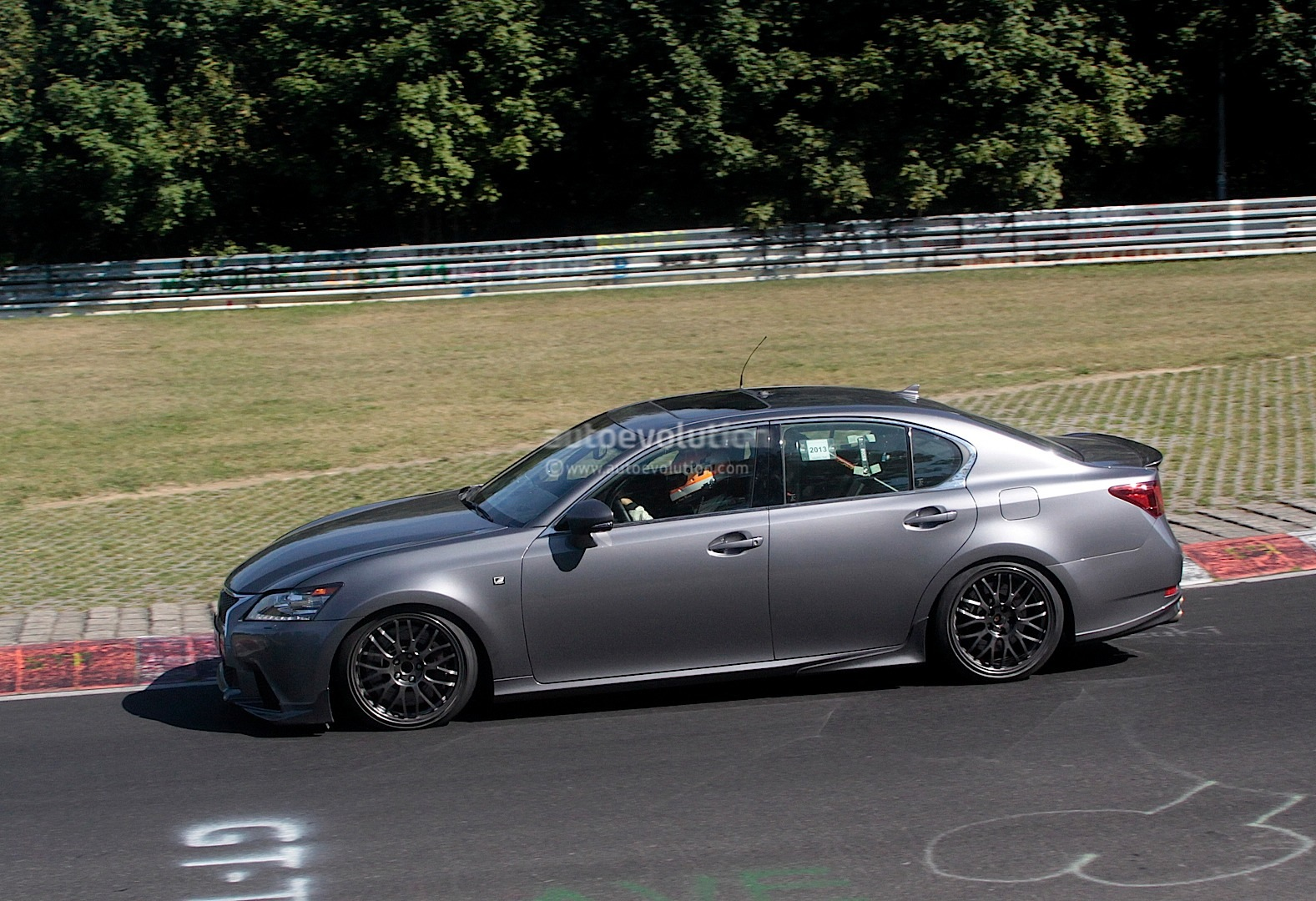 Spyshots Lexus GS F Performance Sedan Prototype Features
