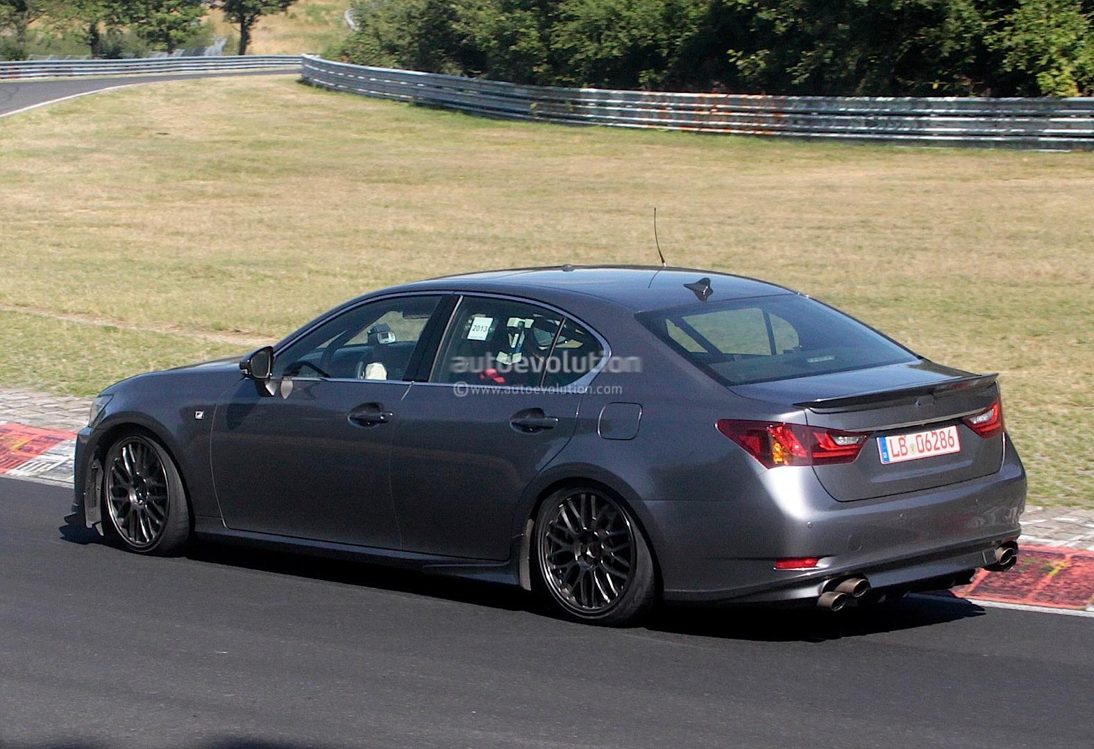 Lexus Nx Turbo >> Spyshots: Lexus GS F Performance Sedan Prototype Features ...