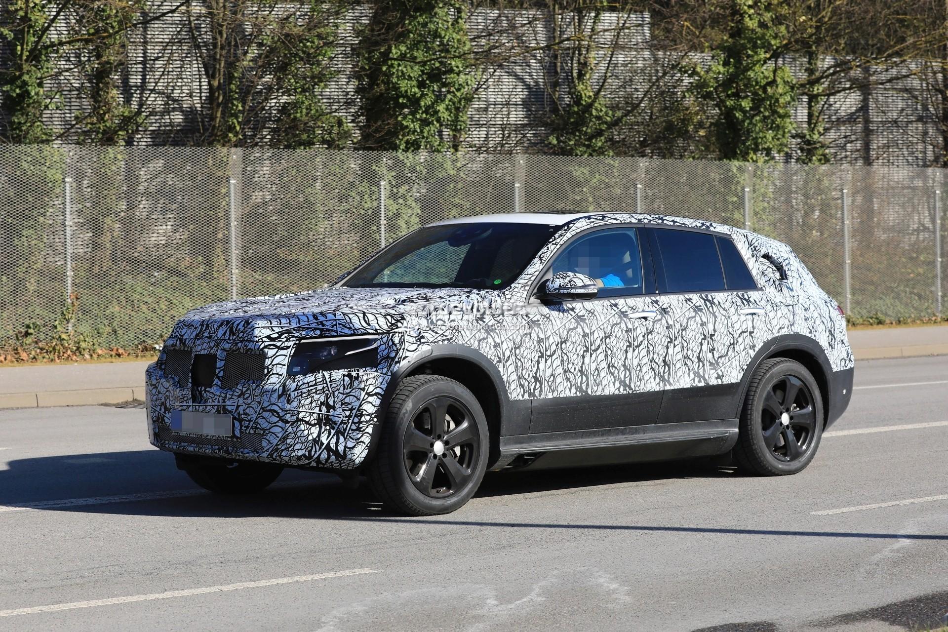 Spyshots 2020 Mercedes Benz Eqc Gets Closer To Production