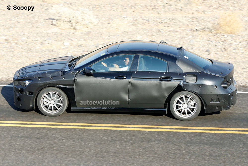 spyshots mercedes benz working on baby cls autoevolution