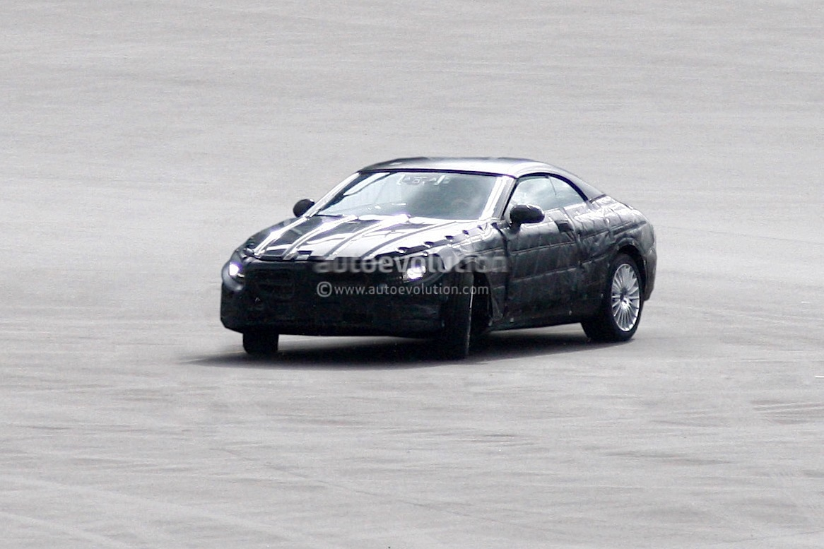 spyshots 2014 mercedes s class cabrio autoevolution. Black Bedroom Furniture Sets. Home Design Ideas