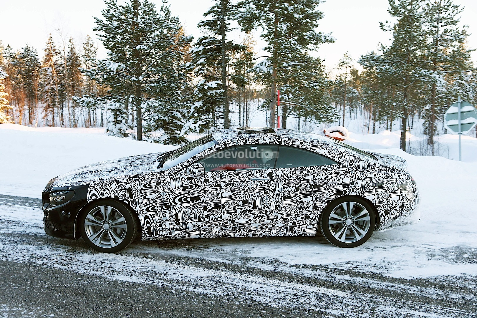 Spyshots: Mercedes S-Class Coupe Getting Ready to Replace the CL ...