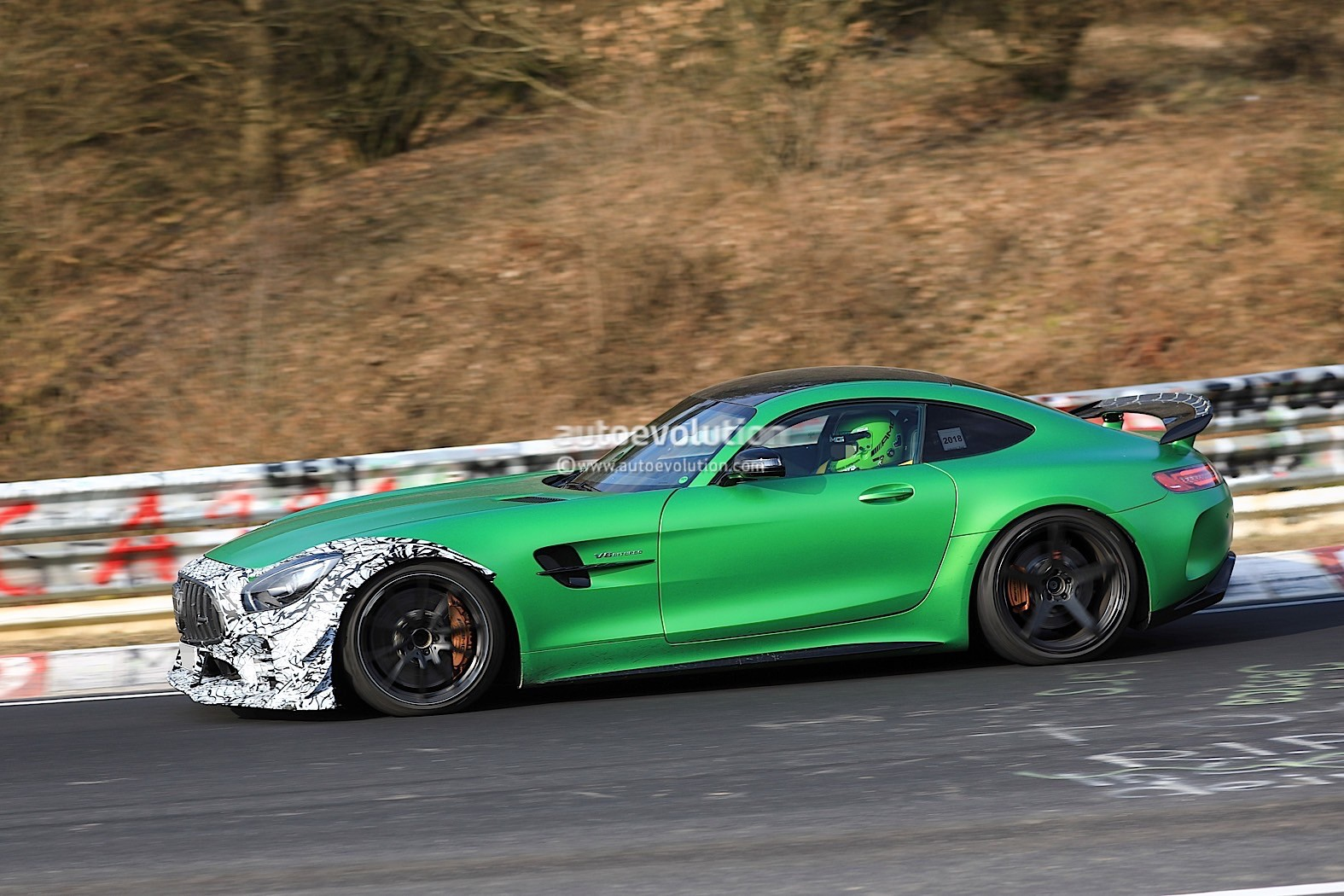 Spyshots: Mysterious Mercedes-AMG GT R Prototype Spotted ...