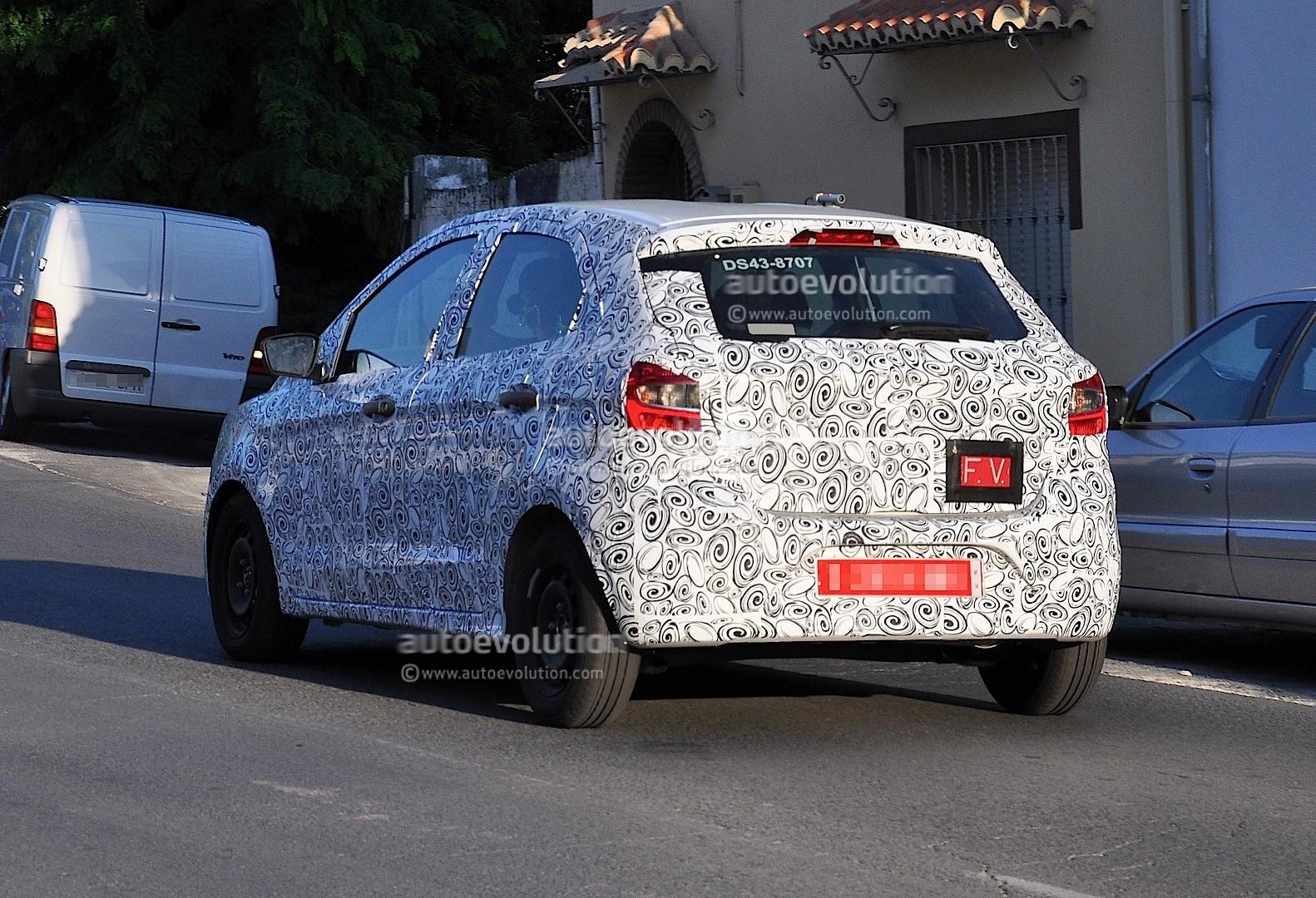 Spyshots mystery small ford hatchback autoevolution