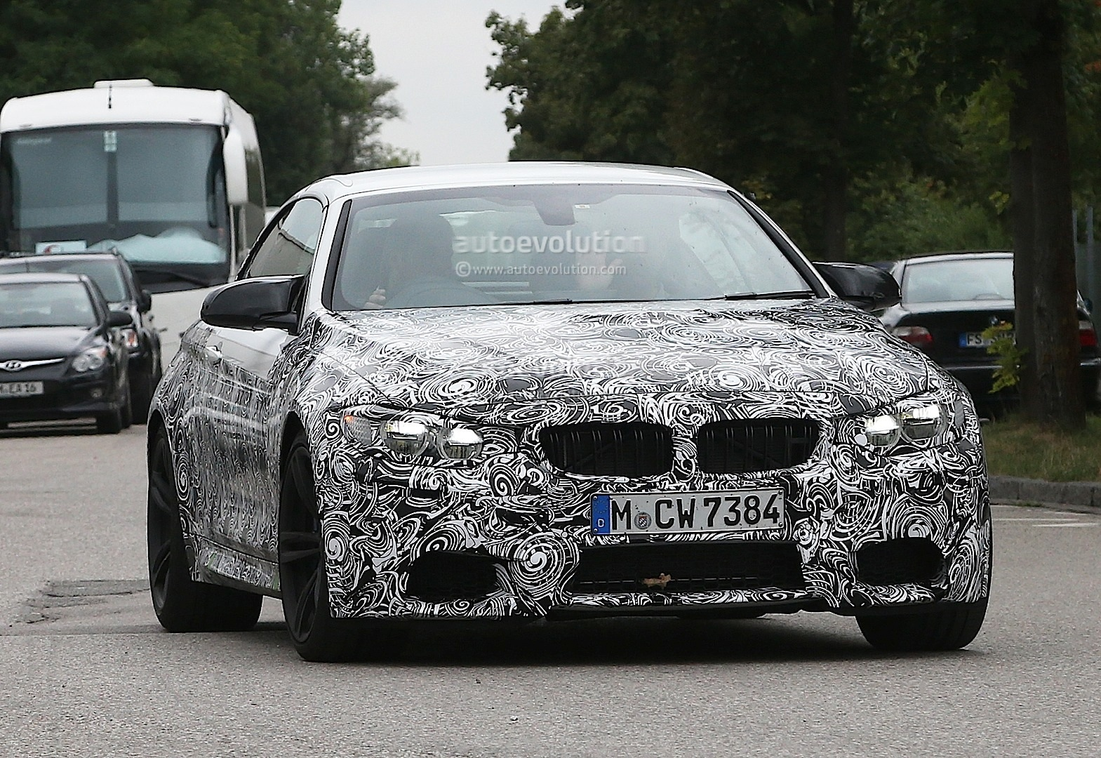 spyshots new bmw m4 cabrio ready offer open top performance autoevolution. Black Bedroom Furniture Sets. Home Design Ideas