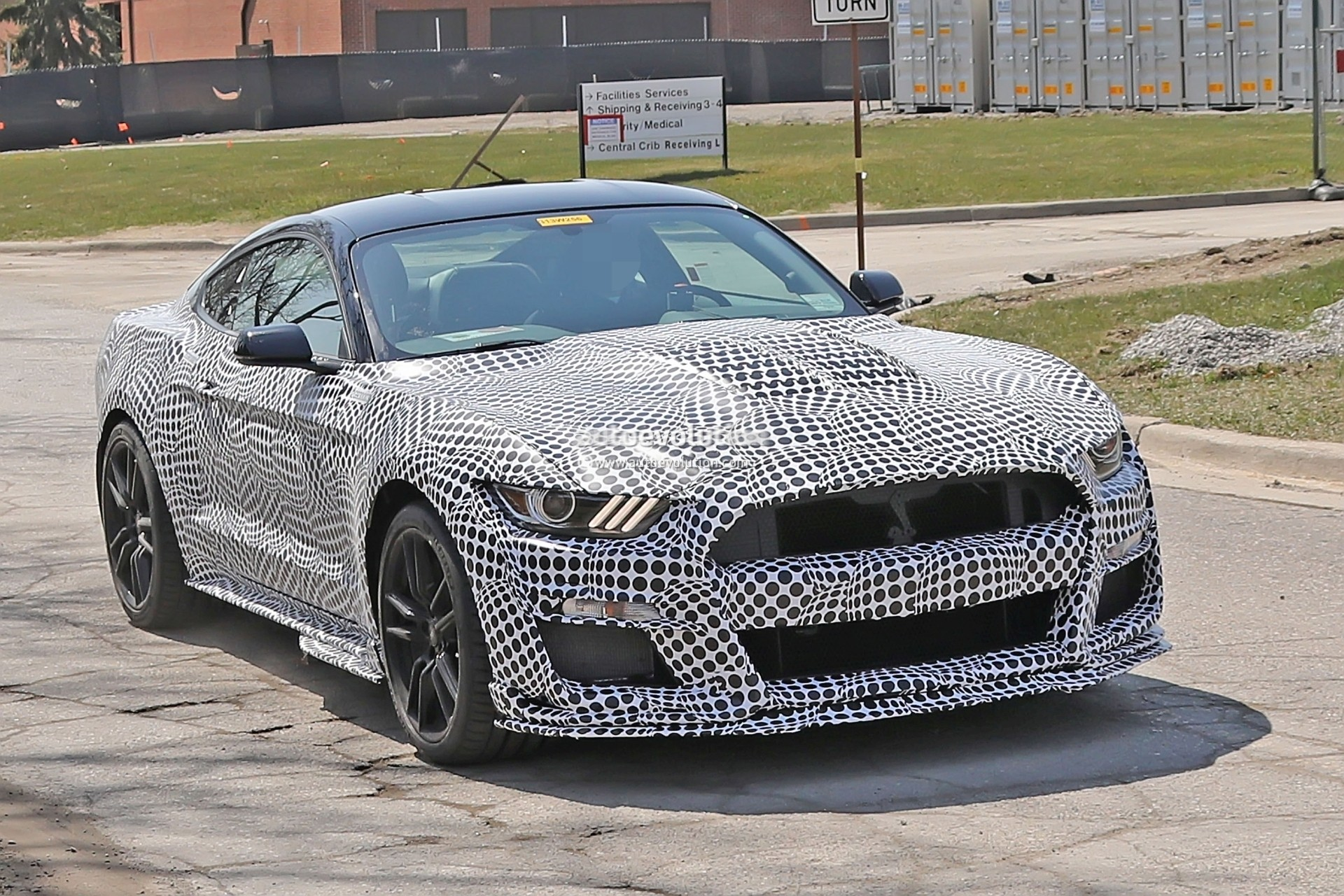 "Spyshots: New Ford Mustang Shelby GT500 Shows ""Old ..."