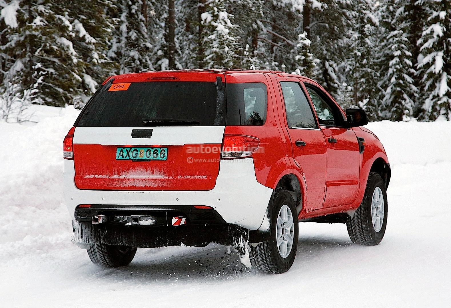 Spyshots: New Ford Ranger-based SUV Mule Caught Testing