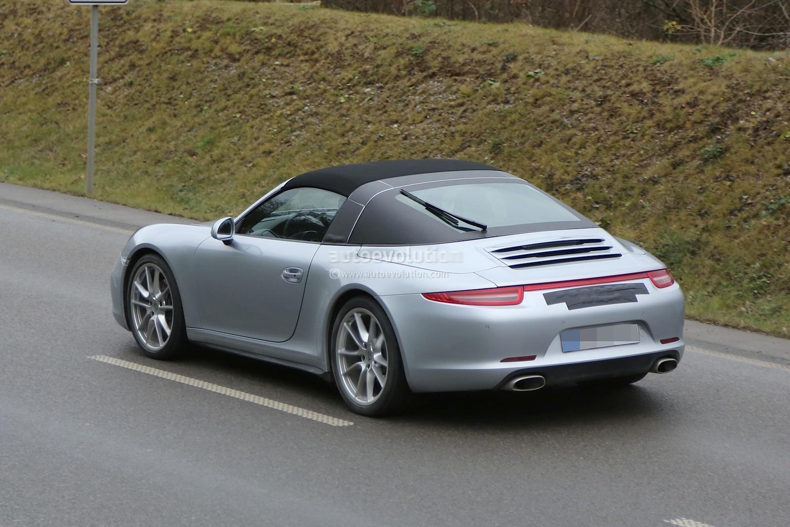 Spyshots New Porsche 911 Targa Almost Undisguised